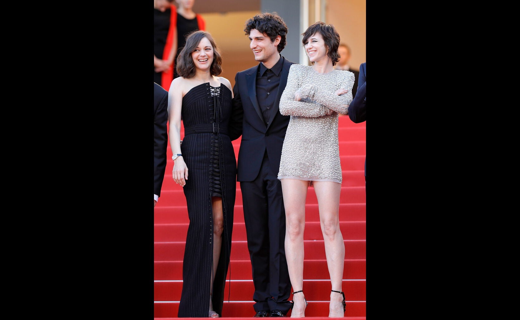 Marion Cotillard, Louis Garrel and Charlotte Gainsbourg.