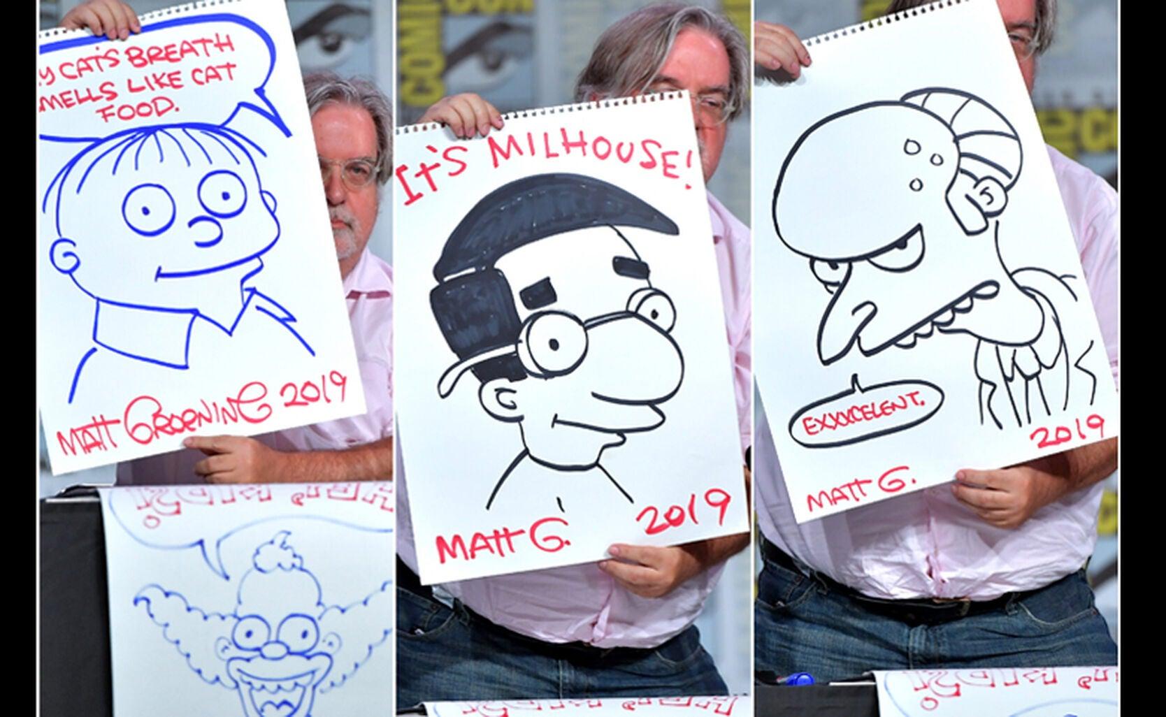 Artist Matt Groening