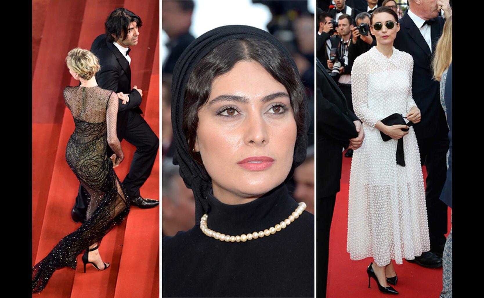 Faith Akin, Saoudabeh Beizaee and Rooney Mara