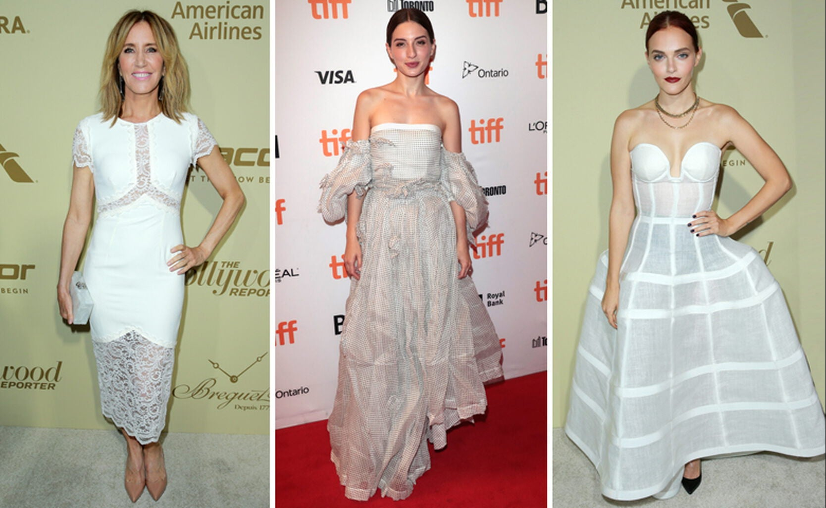 Felicity Huffman, Maria Valverde and Madeline Brewer