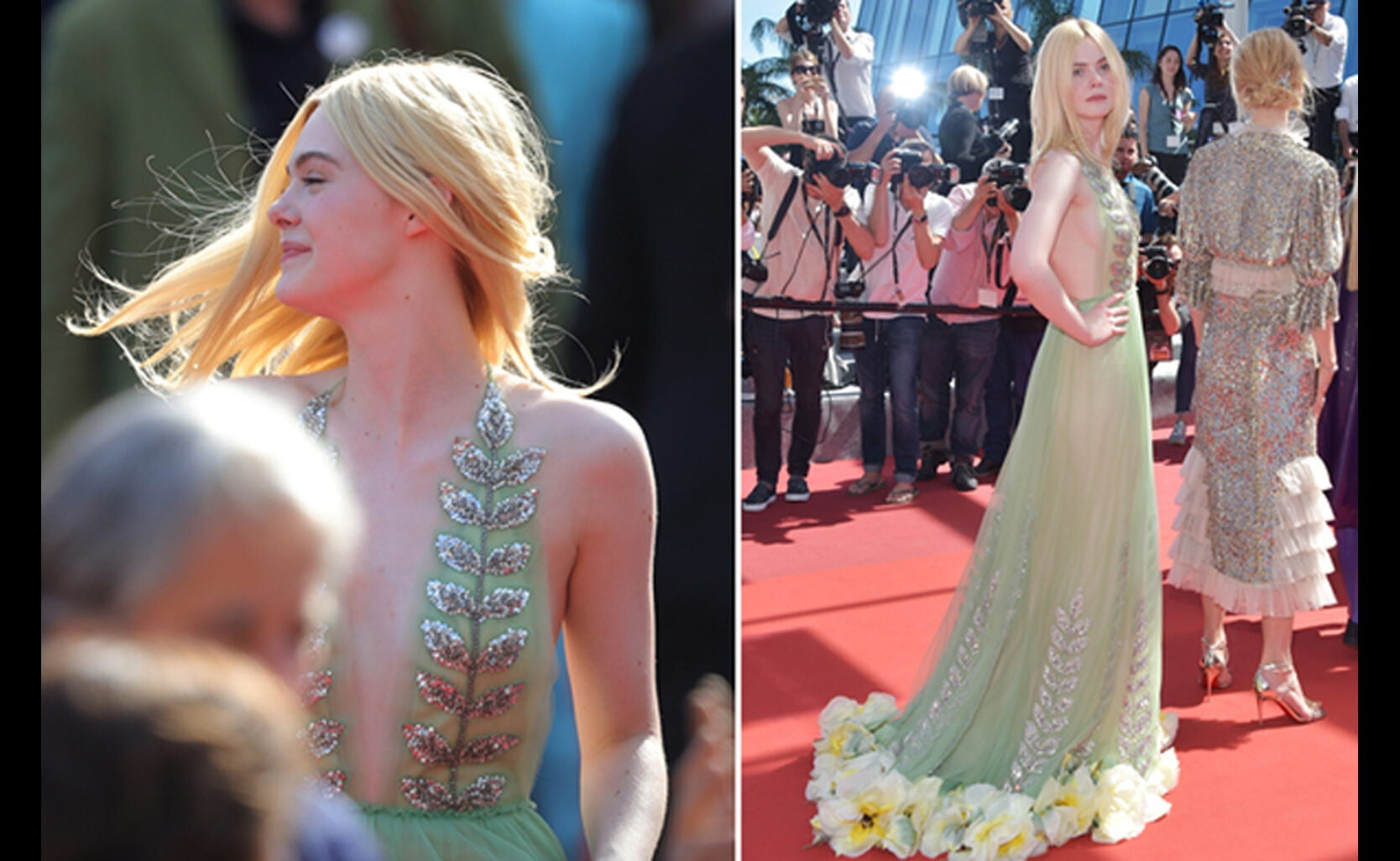 No doubt Elle Fanning ruled this moment.
