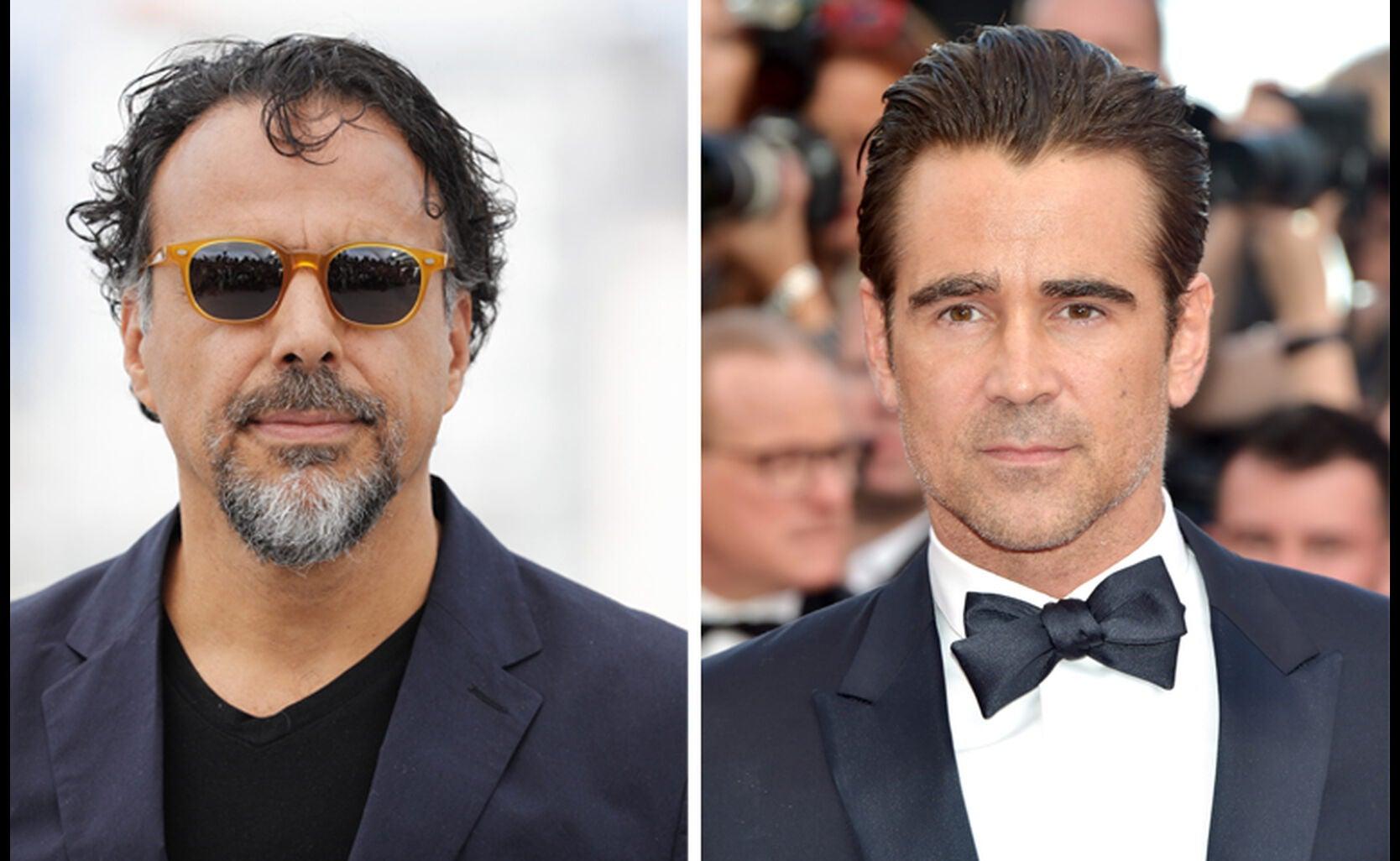 Alejandro González Iñárritu and Collin Farrell