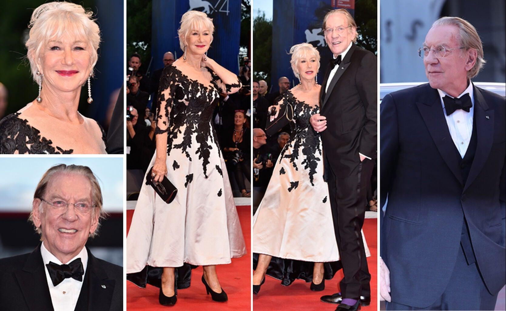 Helen Mirren and Donald Sutherland