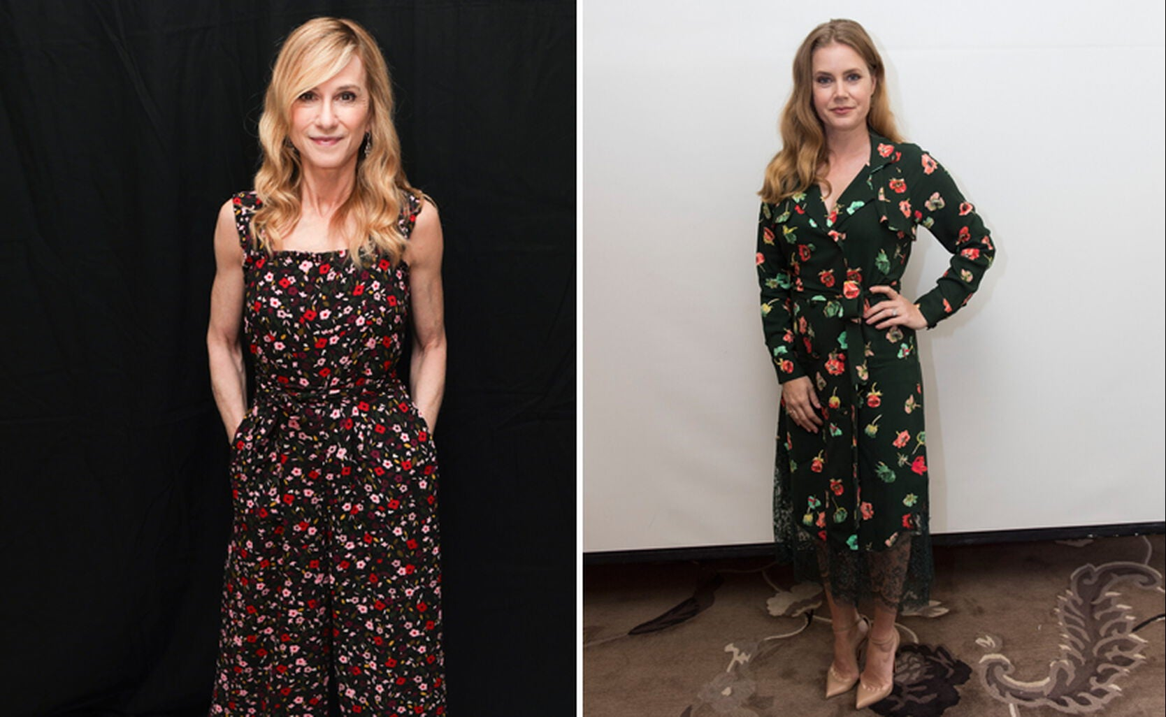 Holly Hunter and Amy Adams