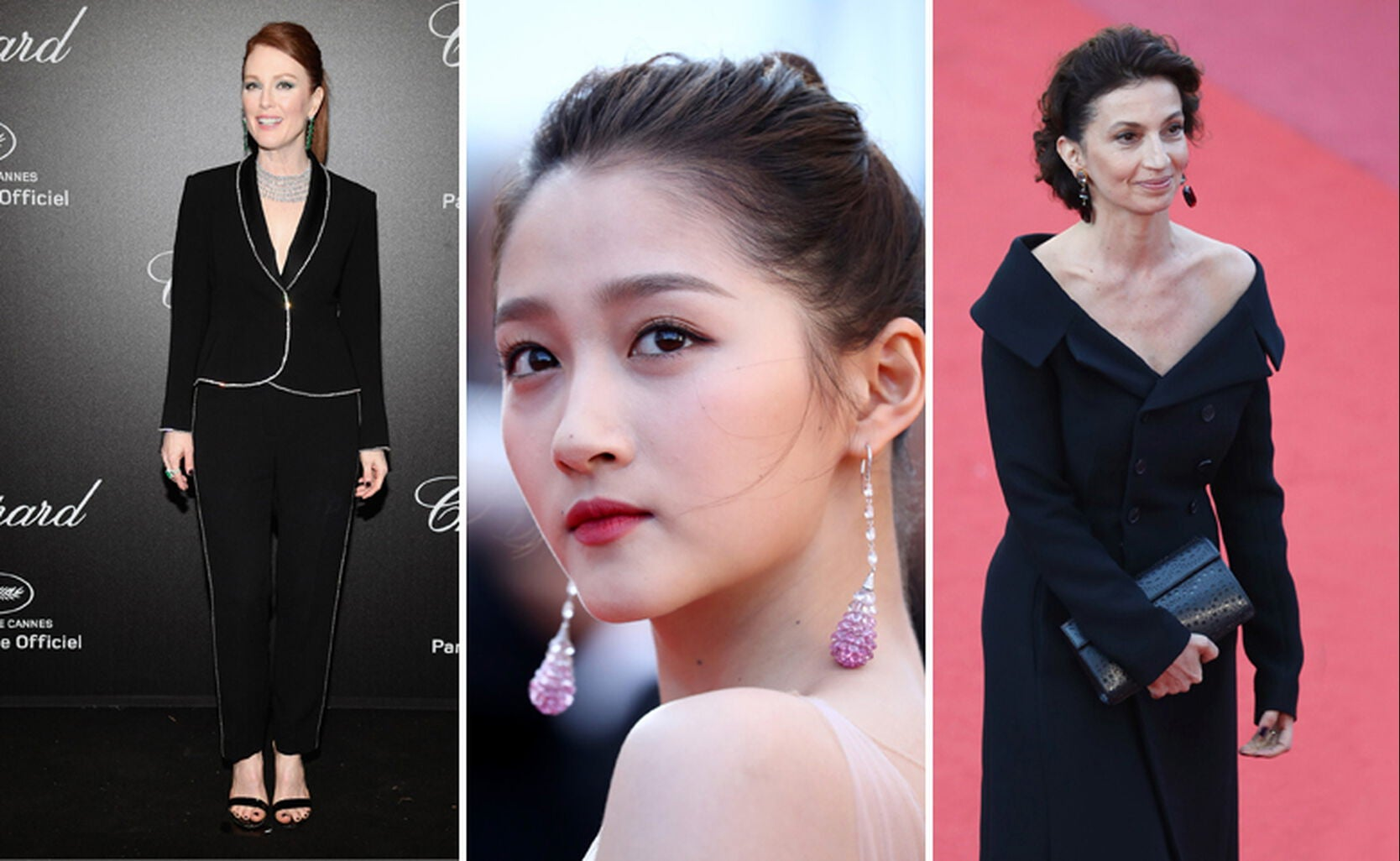 Julianne Moore, Gua Xiaotong and Audrey Azoulay