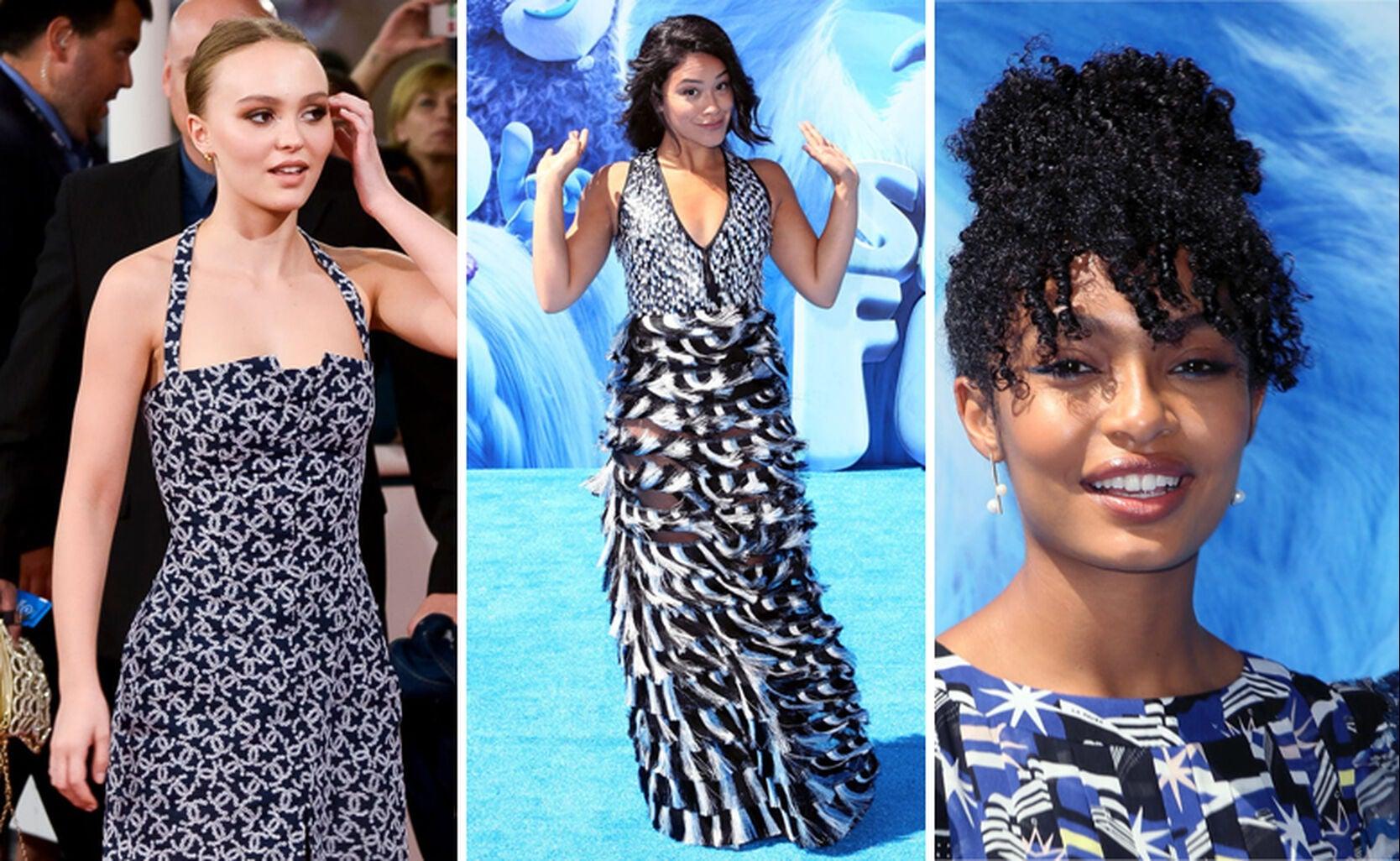 Lily-Rose Depp, Gina Rodriguez, Yara Shahid