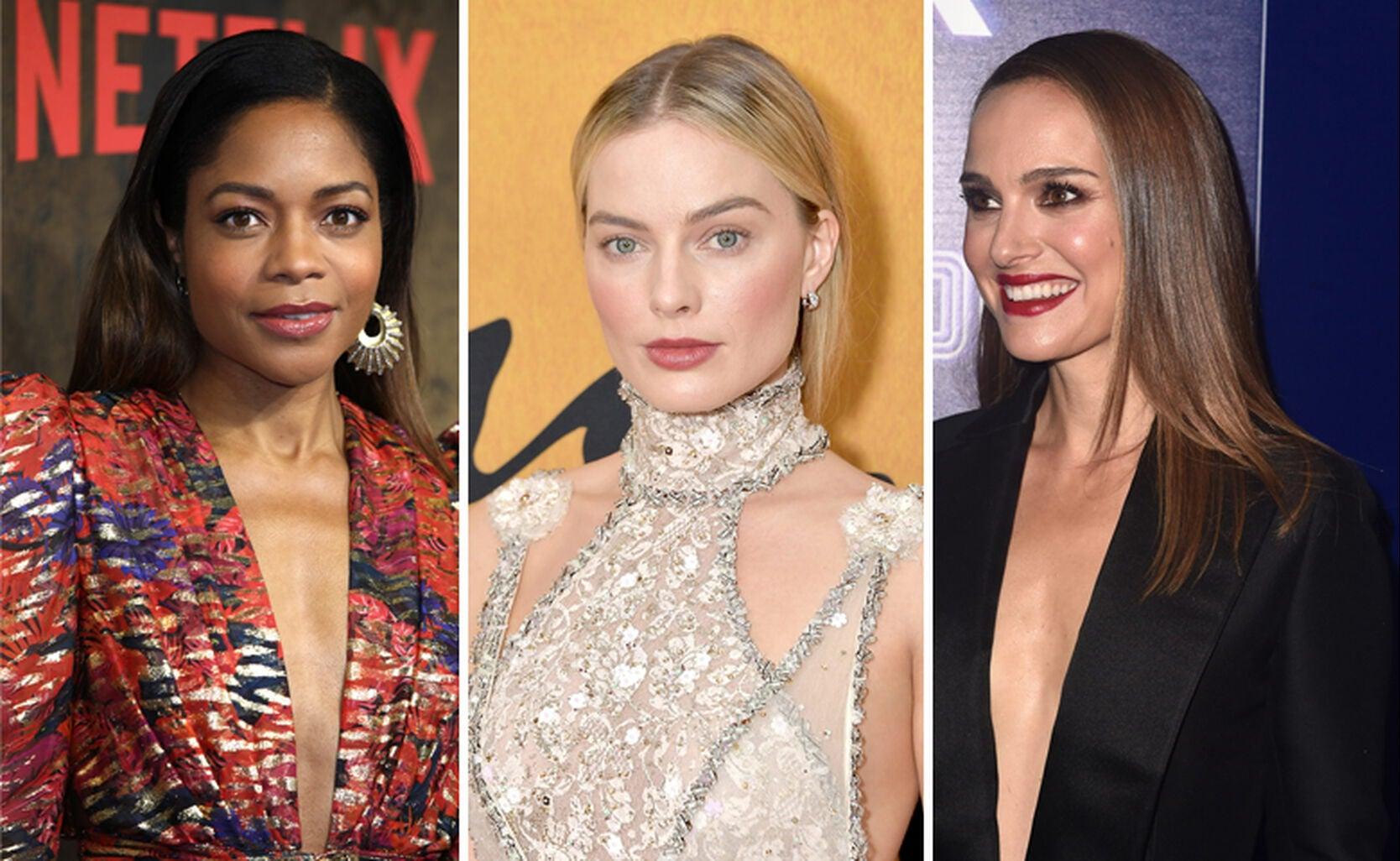 Naomi Harris, Margot Robbie, Natalie Portman