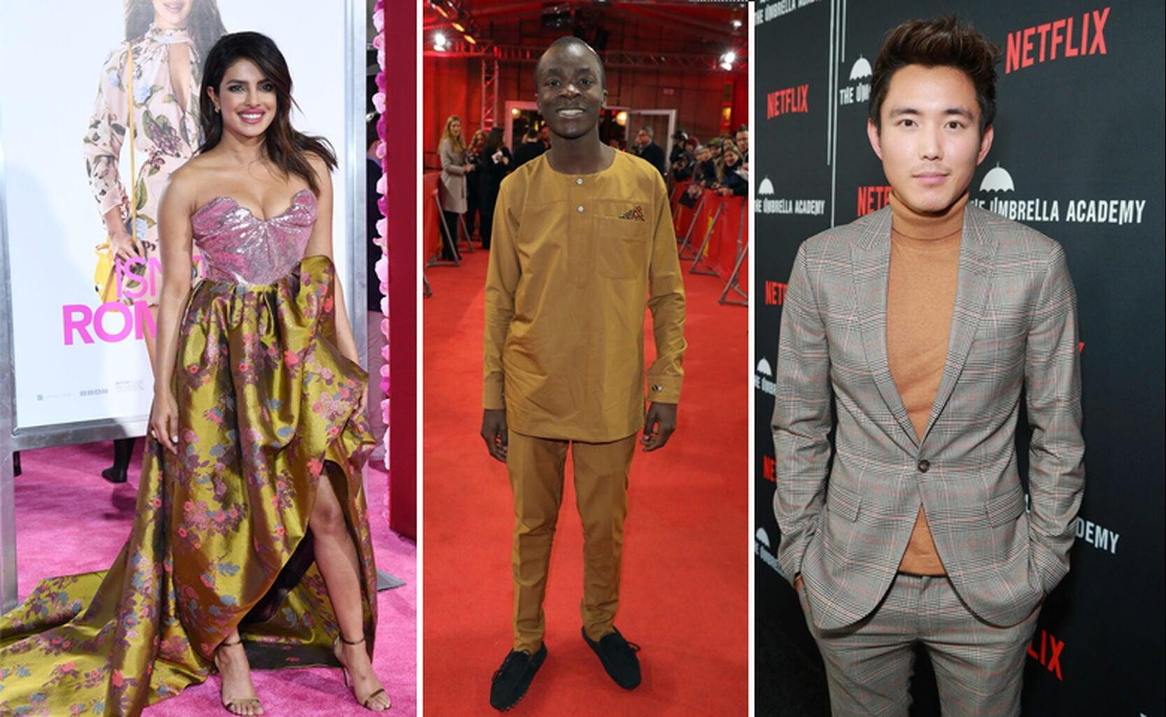 Priyanka Chopra, Maxwell Simba, Justin Min