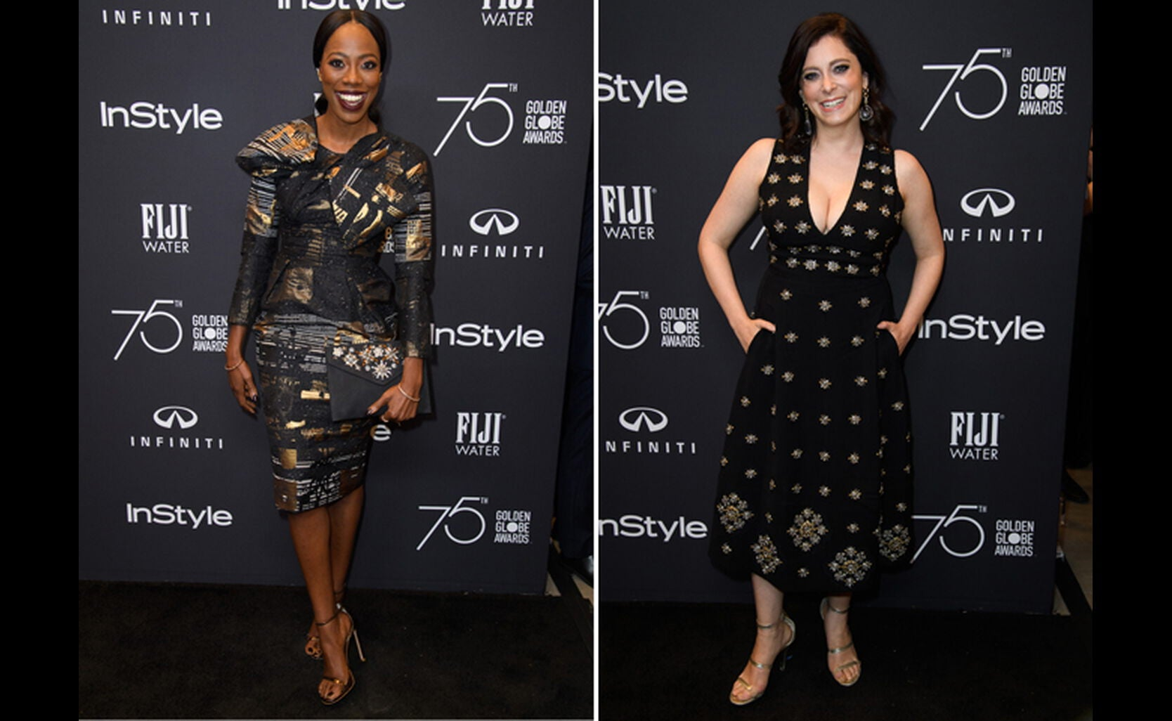 Yvonne Orji and Rachel Bloom