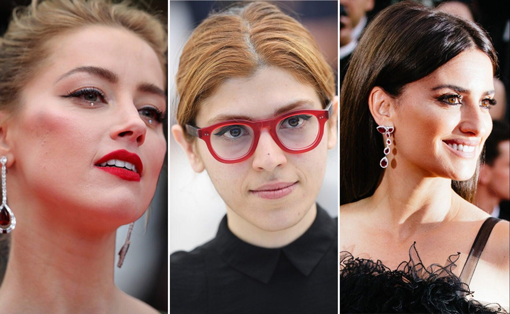 Amber Heard, Anahita Ghazvinizadeh, Penelope Cruz