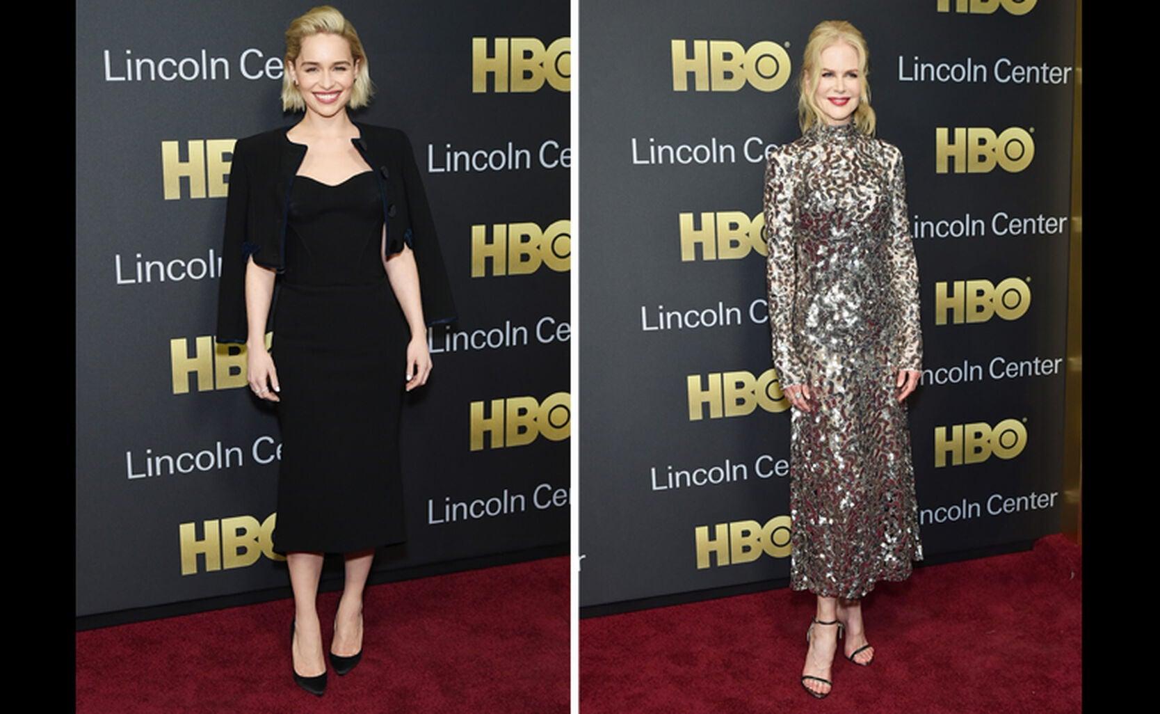 Emilia Clarke and Nicole Kidman
