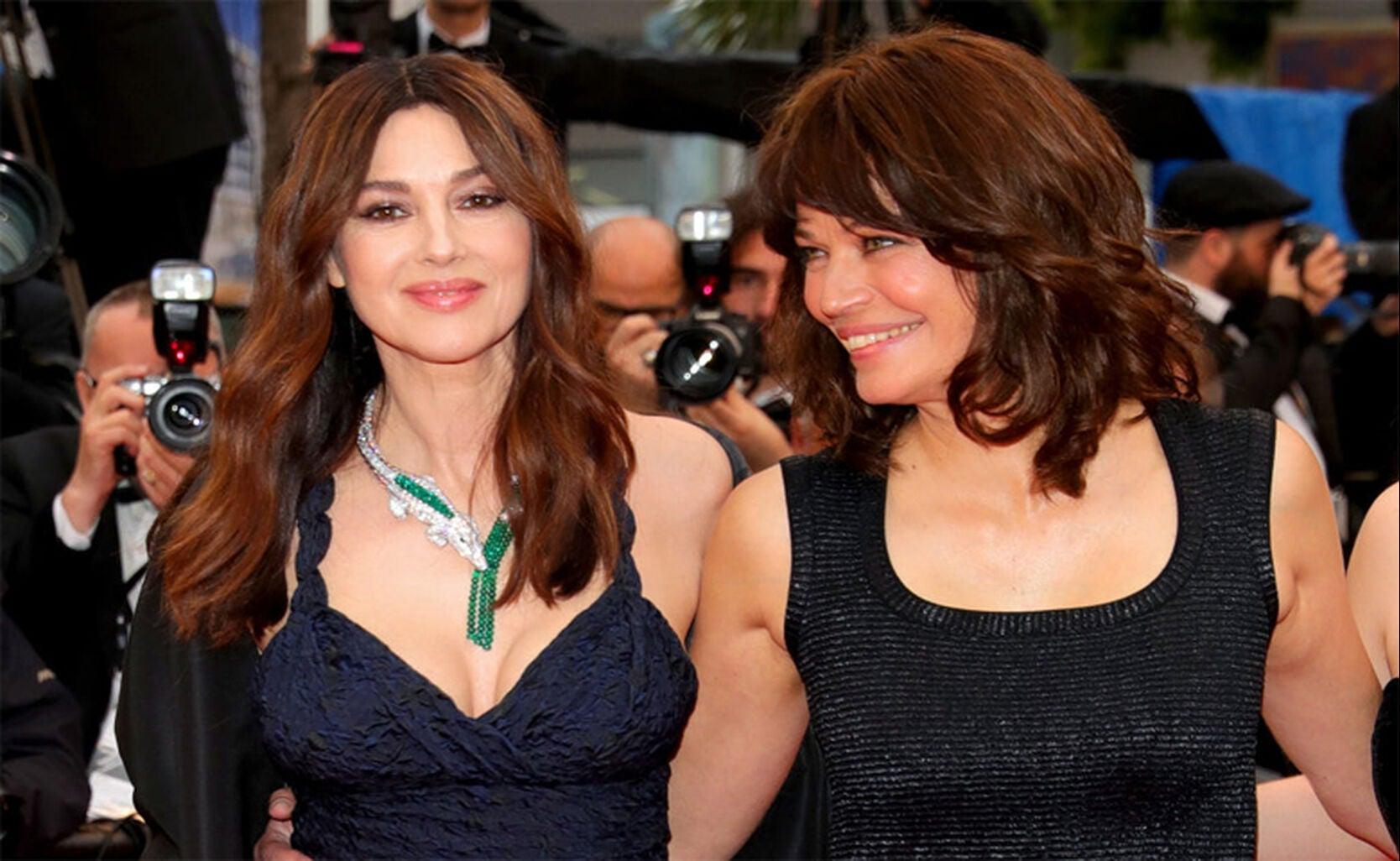 Monica Bellucci and Marianne Denicourt