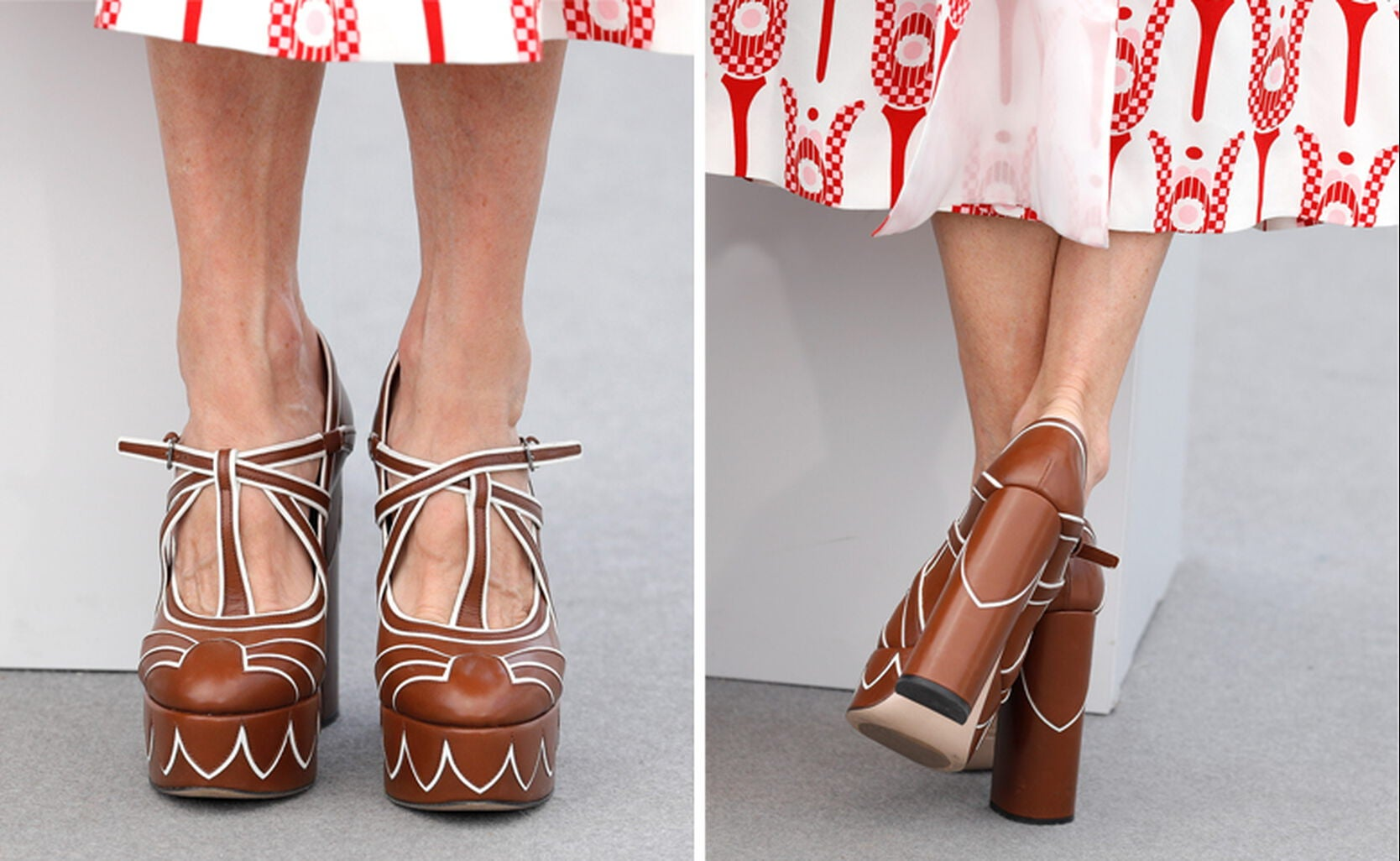 Miuccia Prada shoes