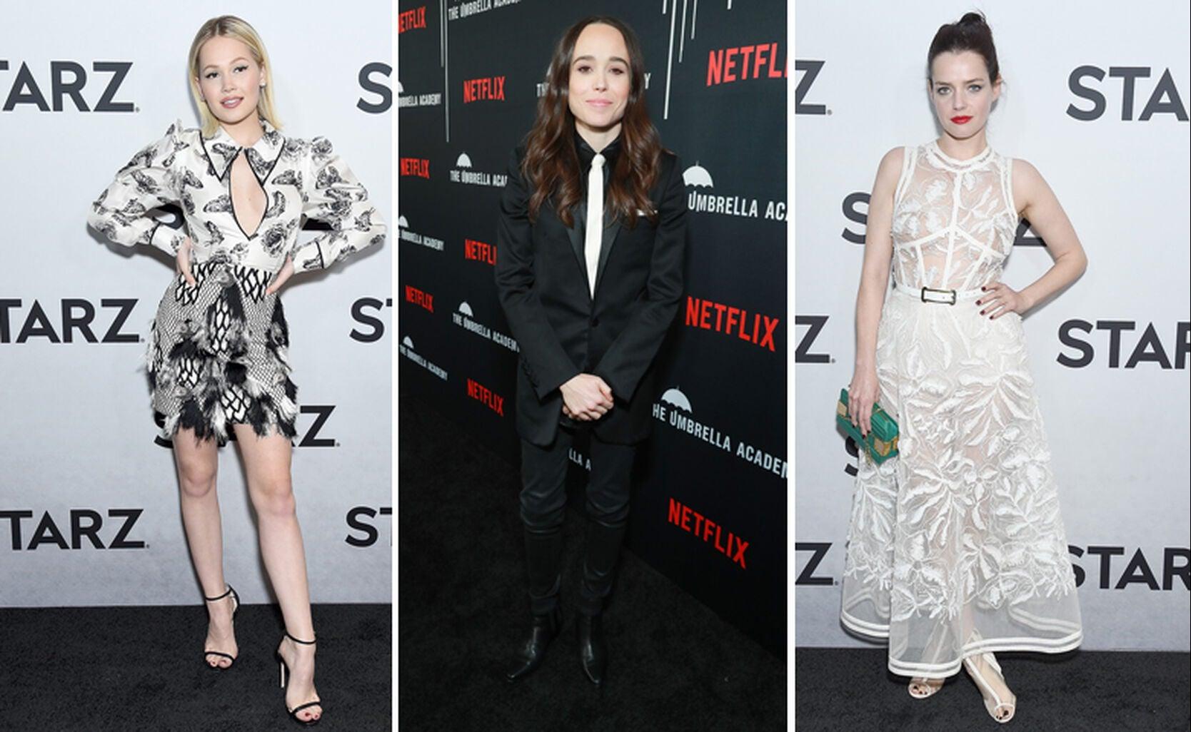 Kelli Berglund, Ellen Page, Roxane Mesquida