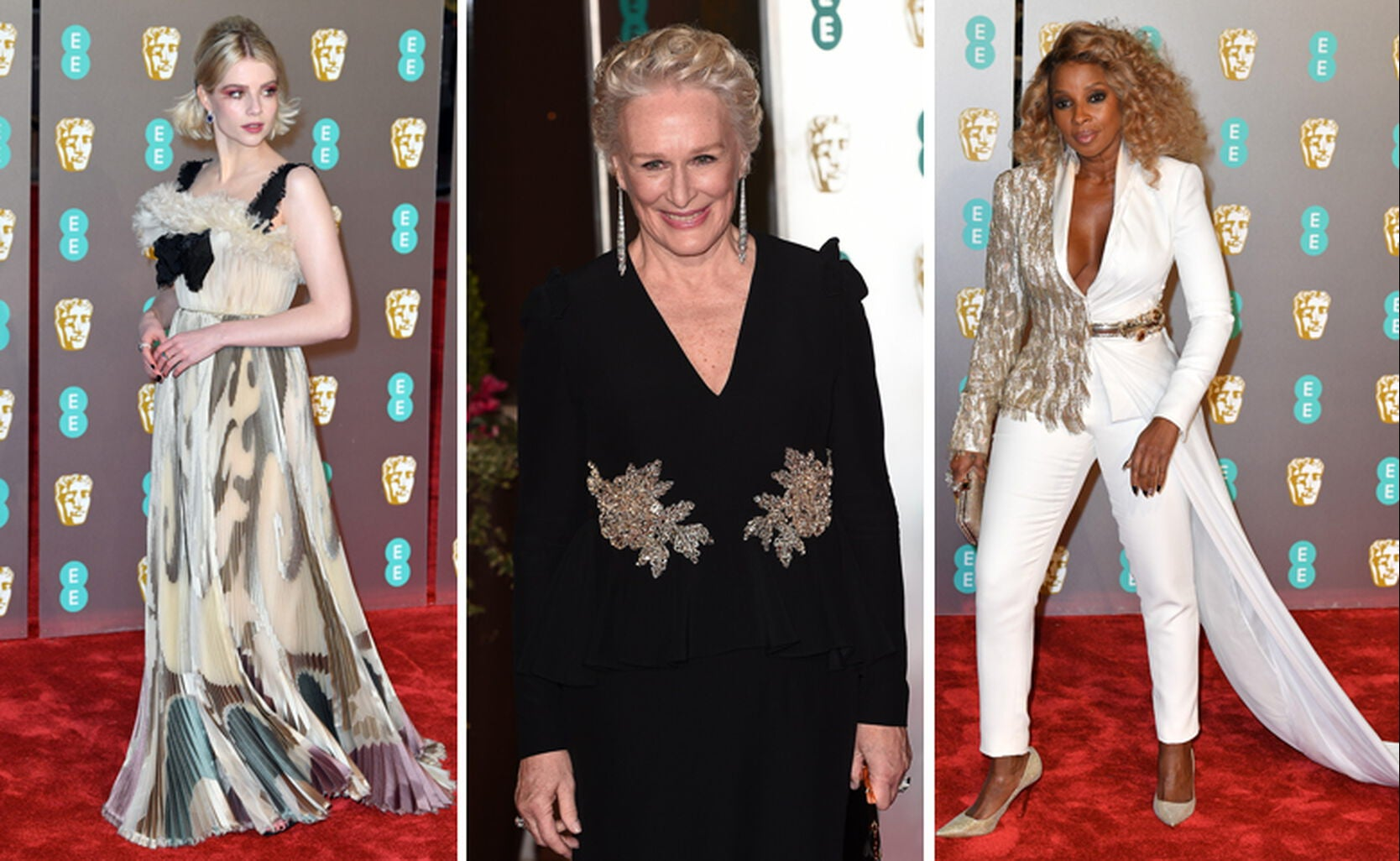 Lucy Boynton, Glenn Close, Mary J. Blige