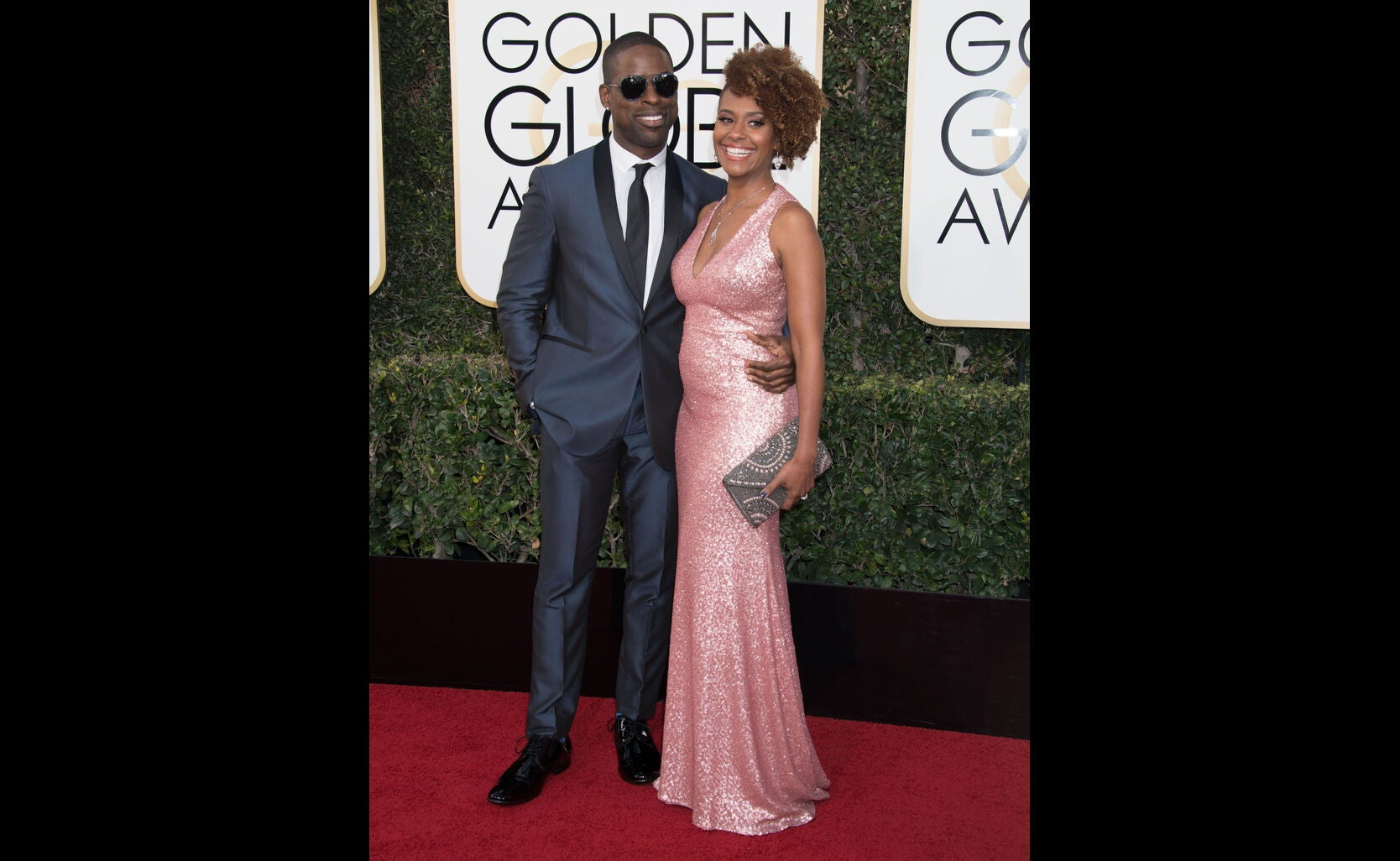 Sterling K. Brown and Michelle Bathe