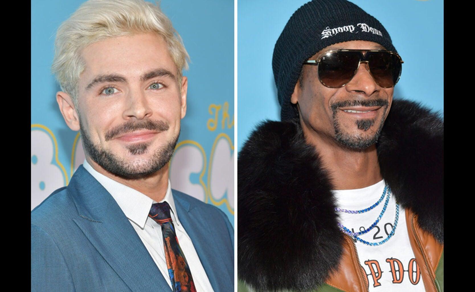 Zac Efron, Snoop Dogg