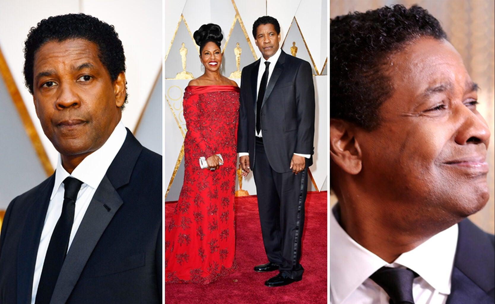 Denzel and Pauletta Washington