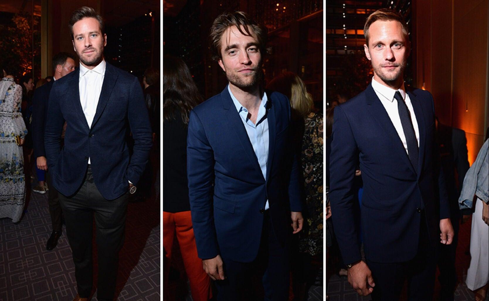 Armie Hammer, Robert Pattinson, Alexander Skarsgard
