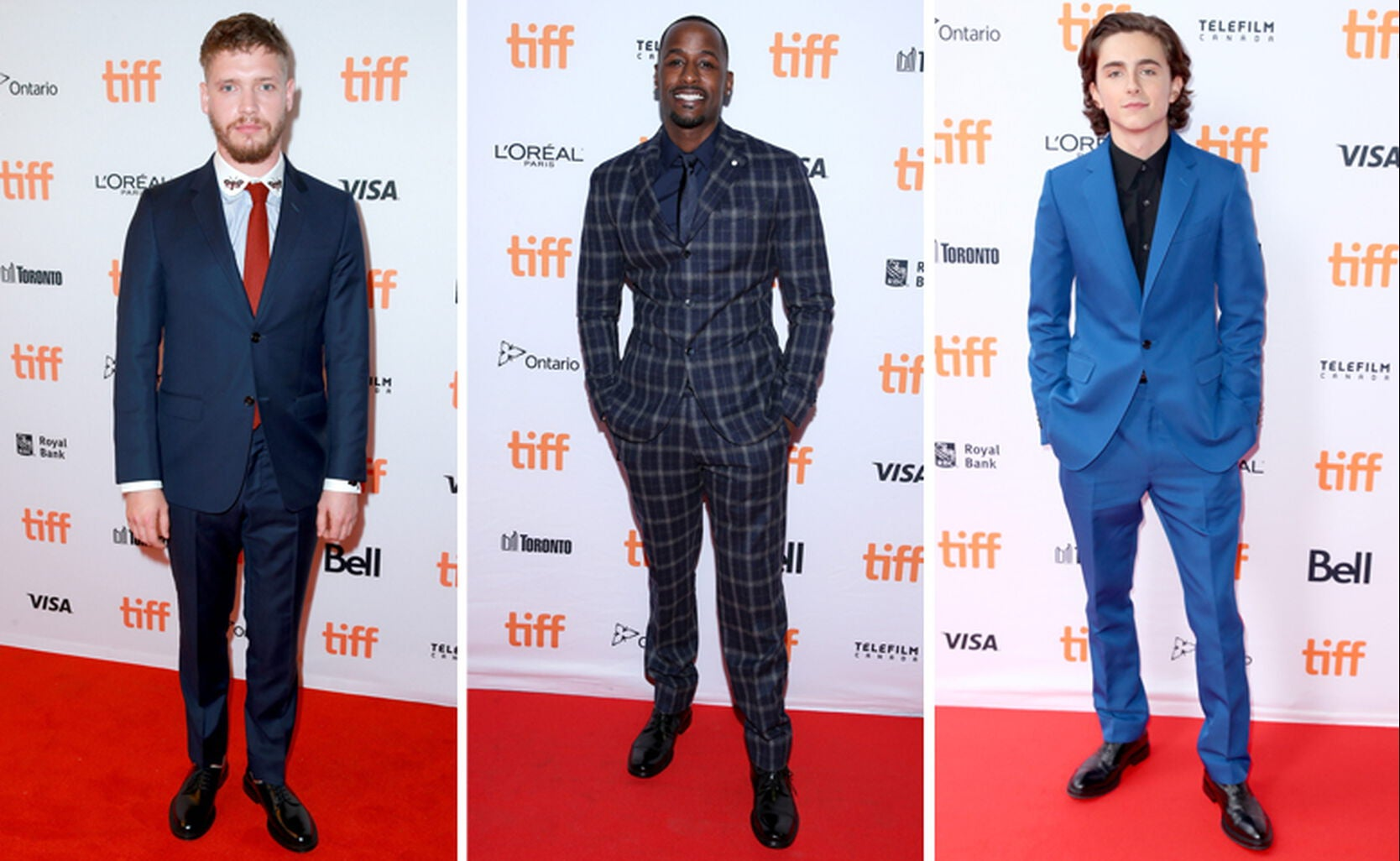 Billy Howle, Jackie Long and Timothee Chalamet