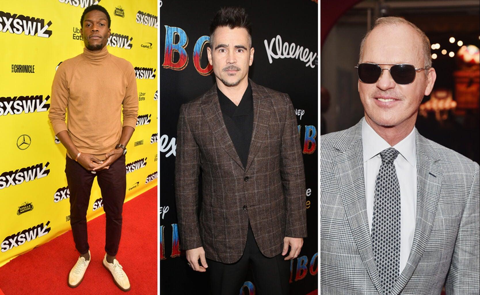Curtis Cook, Jr., Colin Farrell, Michael Keaton