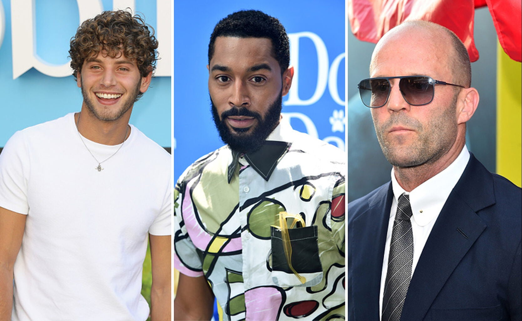 Eyal Booker, Tone Bell and Jason Statham