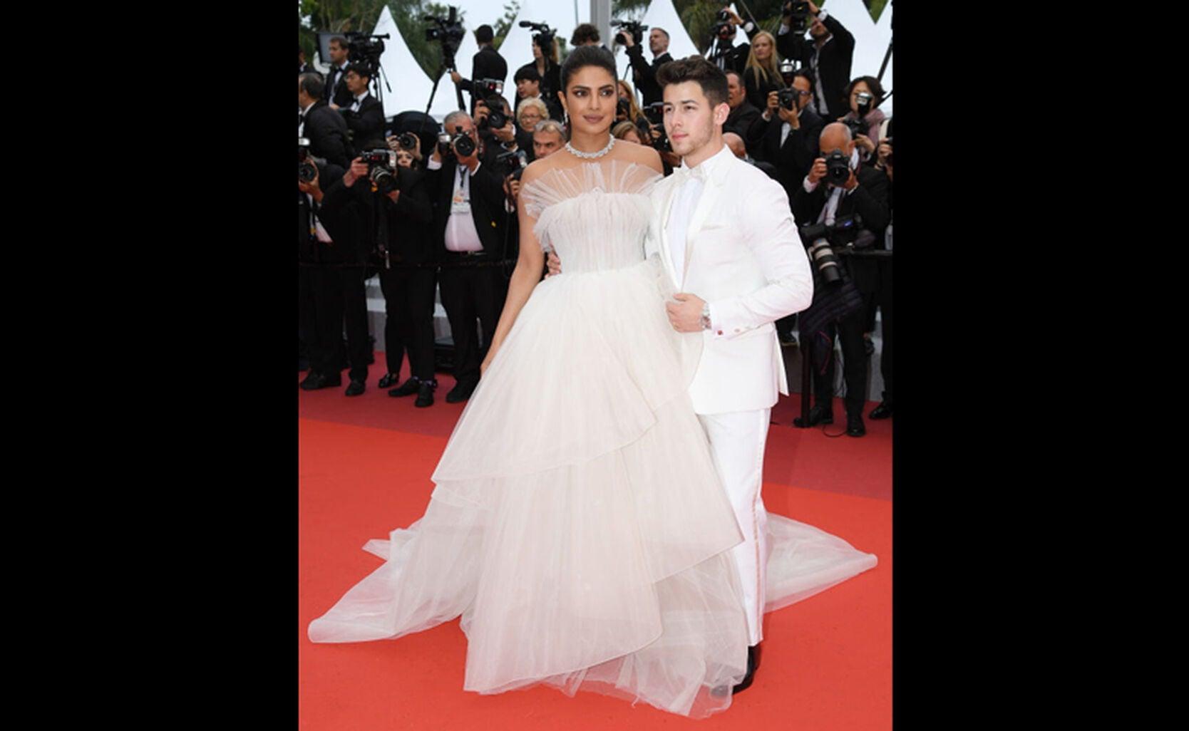 Priyanka Copra with husband Nick Jonas