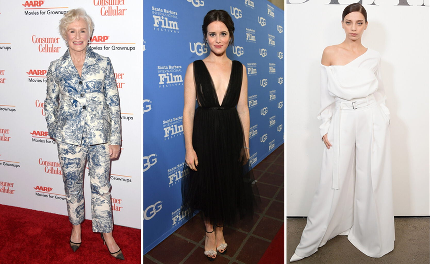 Glenn Close, Claire Foy, Angela Sarafyan