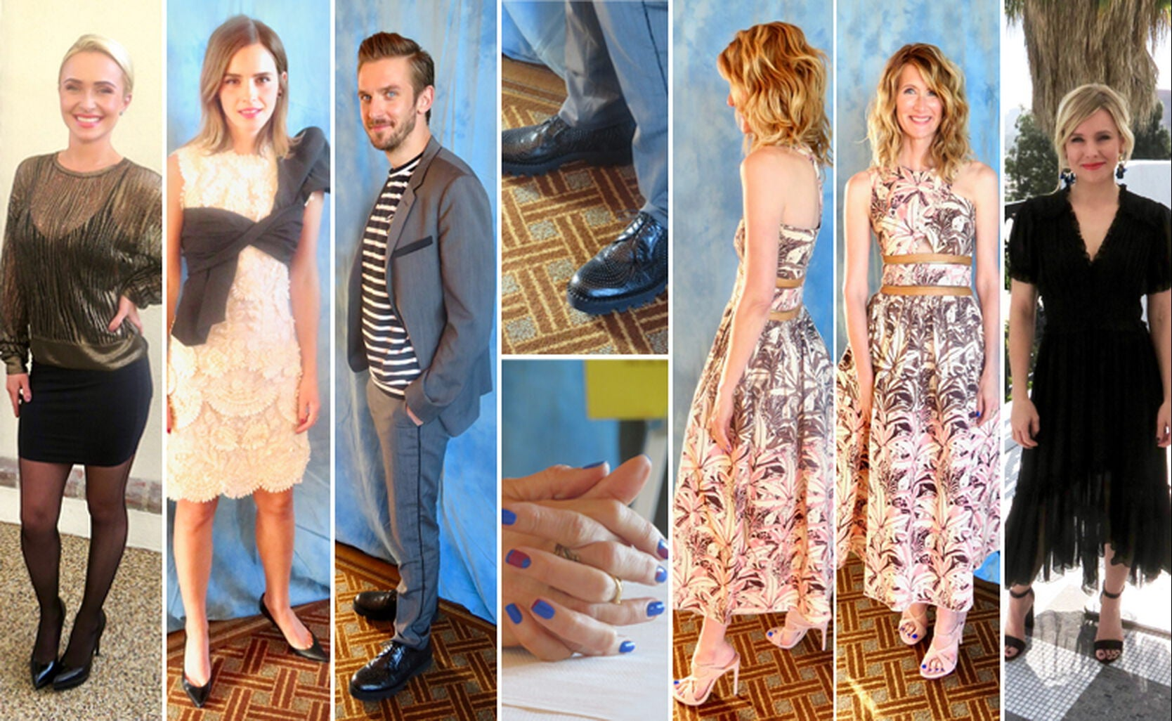 Hayden Panettiere, Emma Watson, Dan Stevens, Laura Dern and Kristen Bell