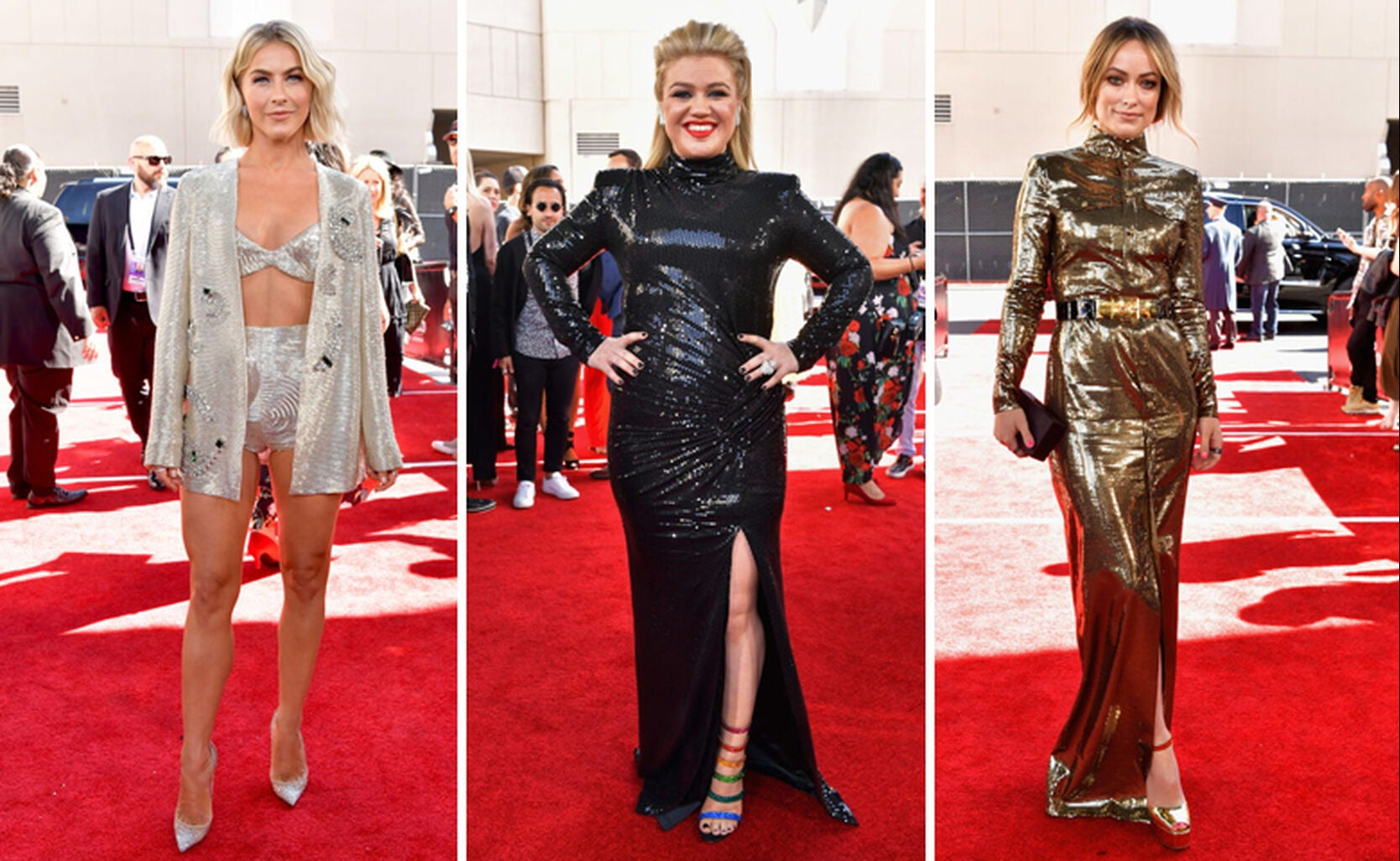 Julianne Hough, Kelly Clarkson, Olivia Wilde