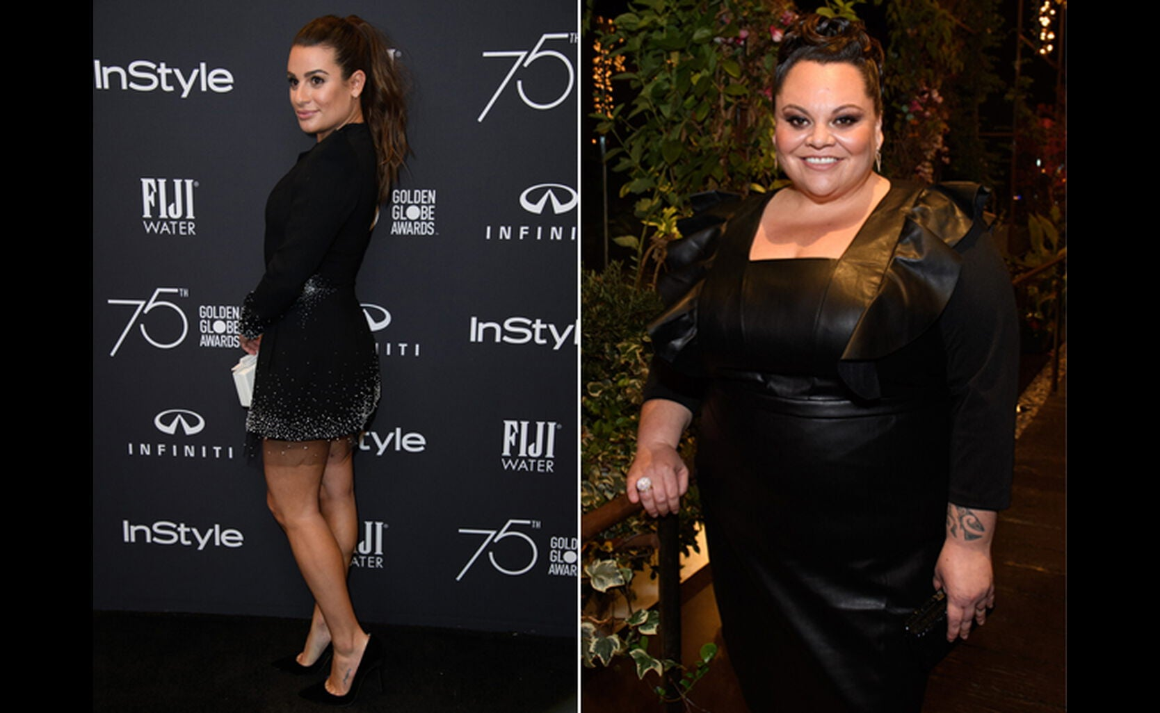 Lea Michelle and Keala Settle