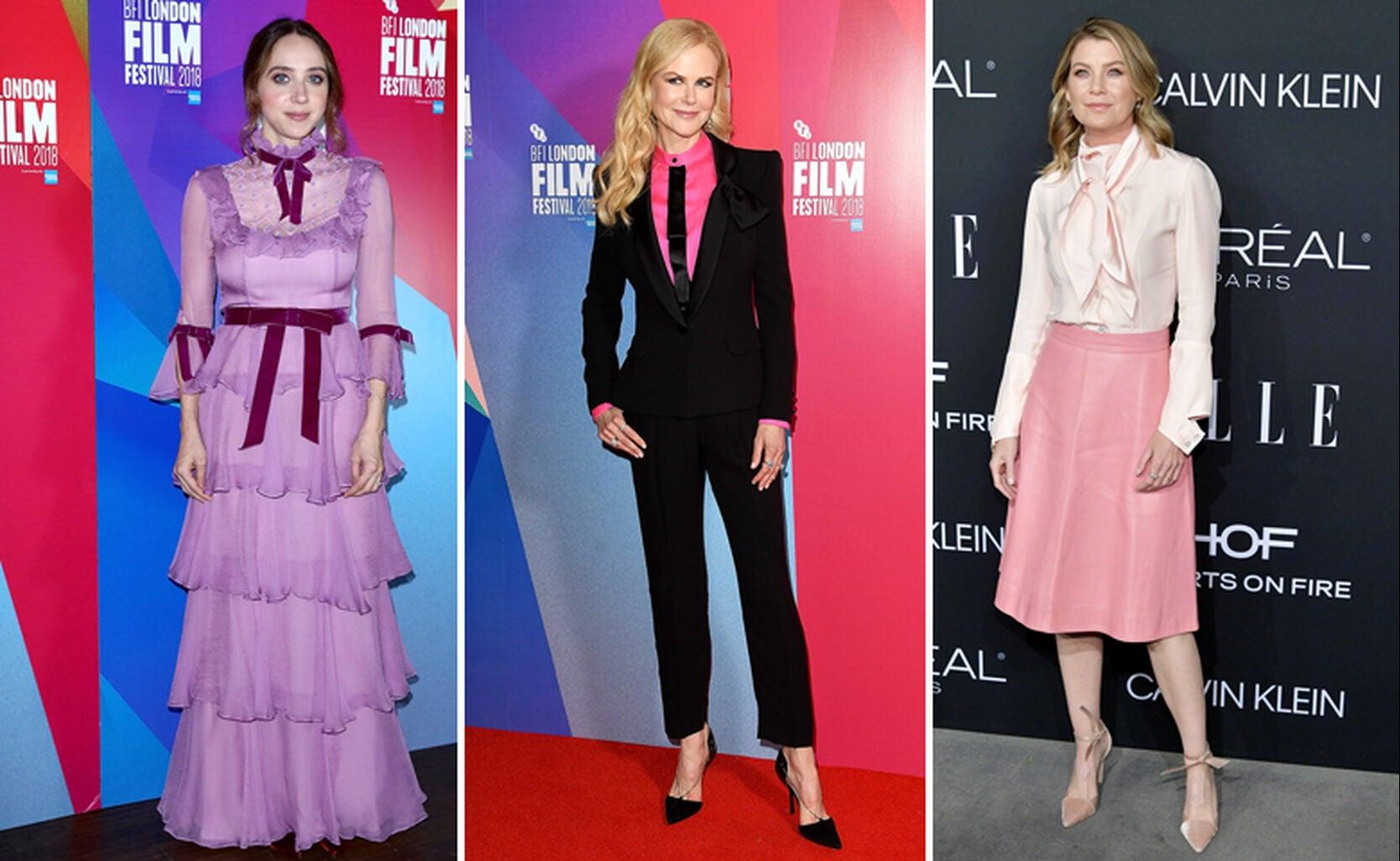 Zoe Kazan, Nicole Kidman, Ellen Pompeo