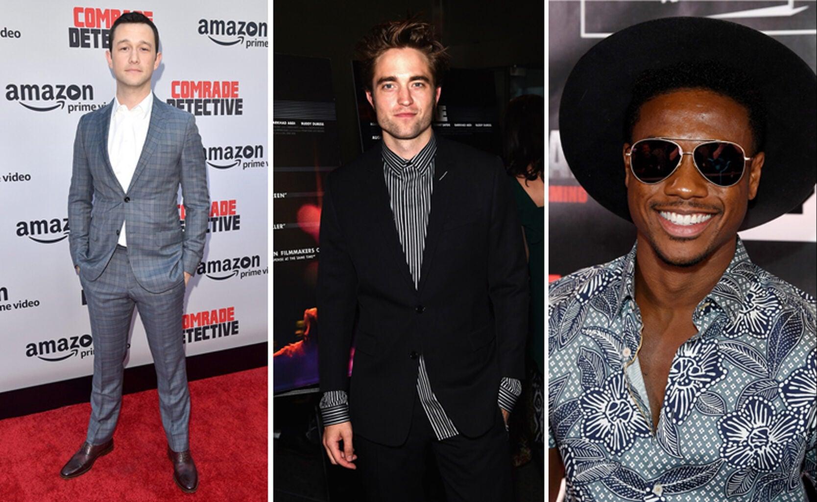 Joseph Gordon Levitt, Shamar Philippe and Robert Pattinson