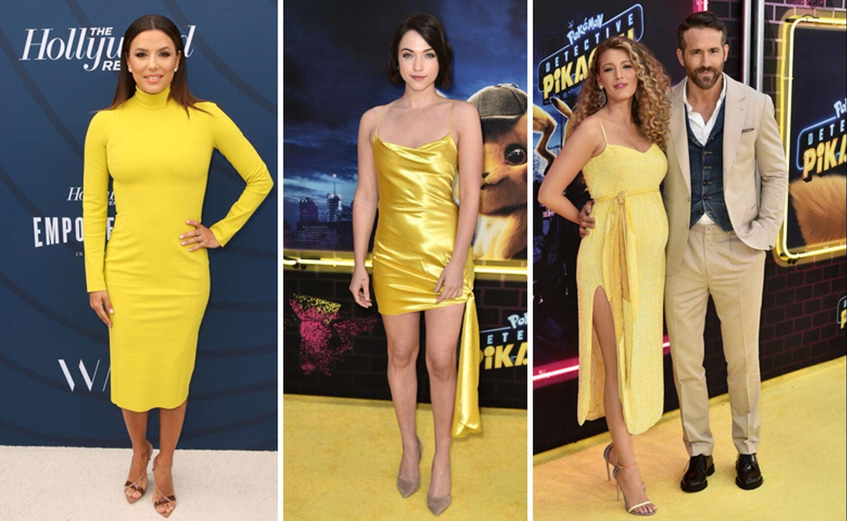 Eva Longoria, Violett Beane, Blake Livley with Ryan Reynolds