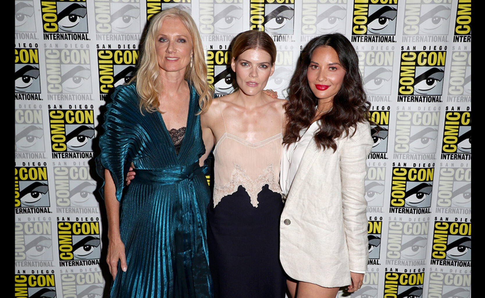 Cast of the TV Series The Rook at Comic-Con 2019