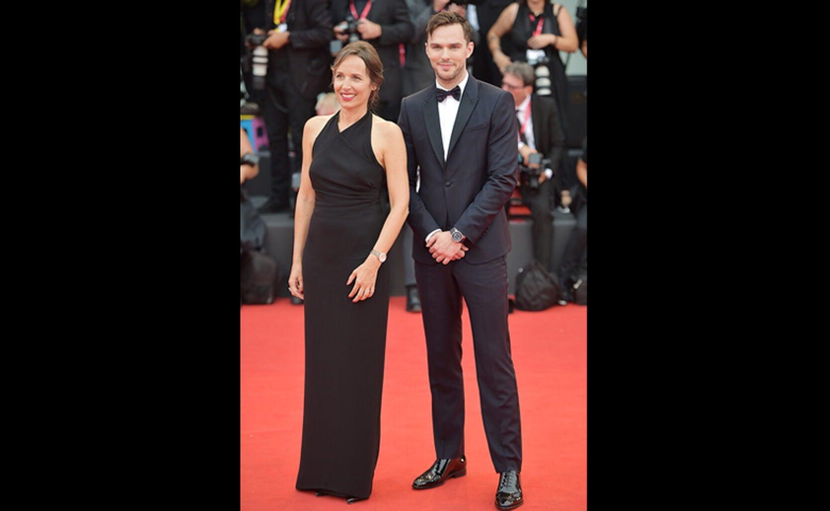 Catherine Renier and Nicholas Hoult