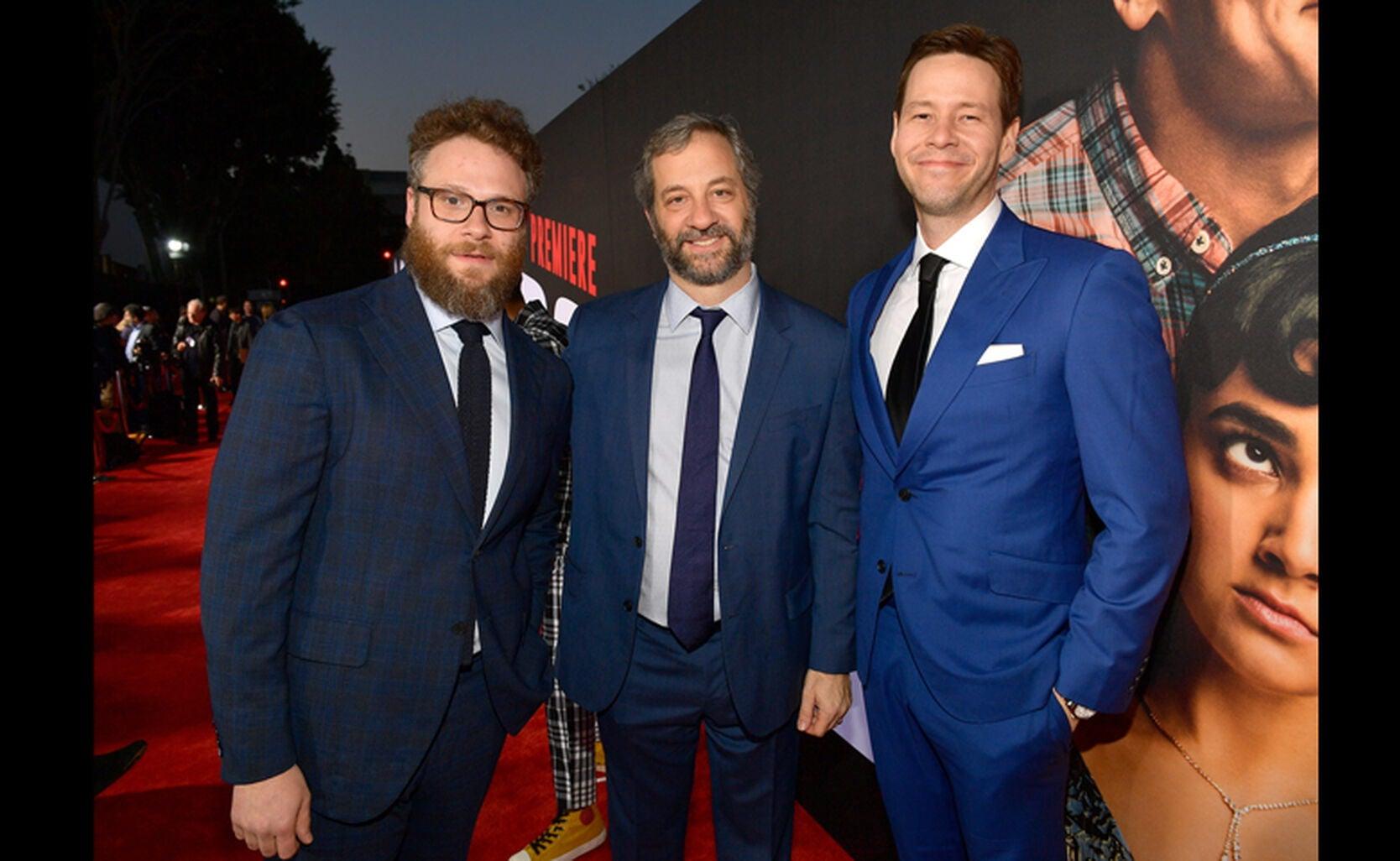 Seth Rogen, Judd Apatow and Ike Barinholtz