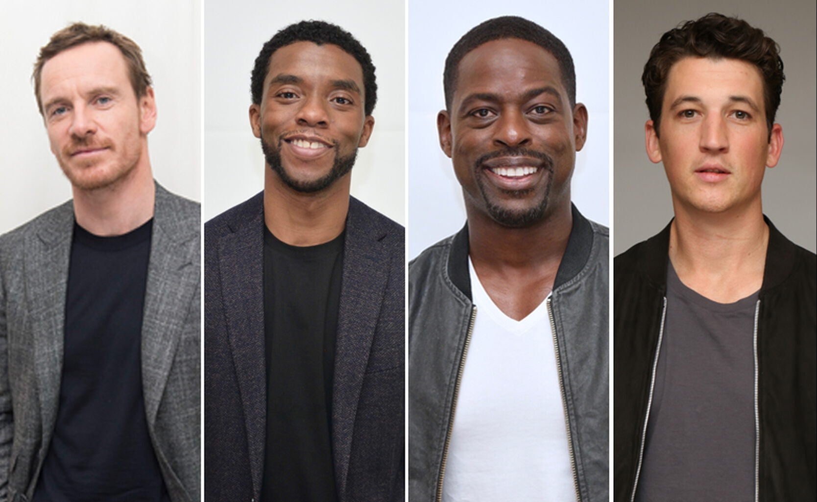 Michael Fassbender, Chadwick Boseman, Sterling K. Brown and Miles Teller