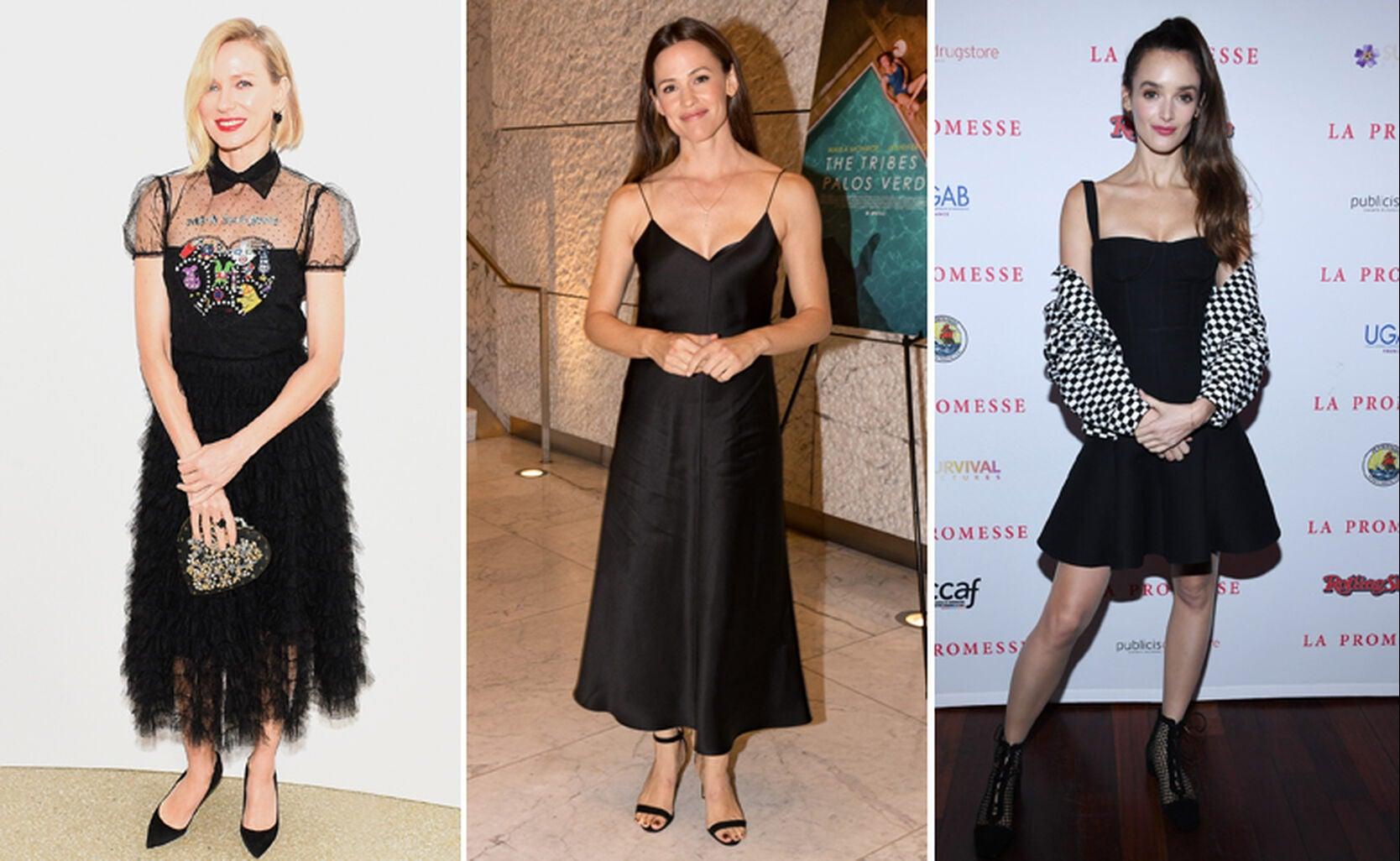Naomi Watts, Jennifer Garner and Charlotte Le Bon