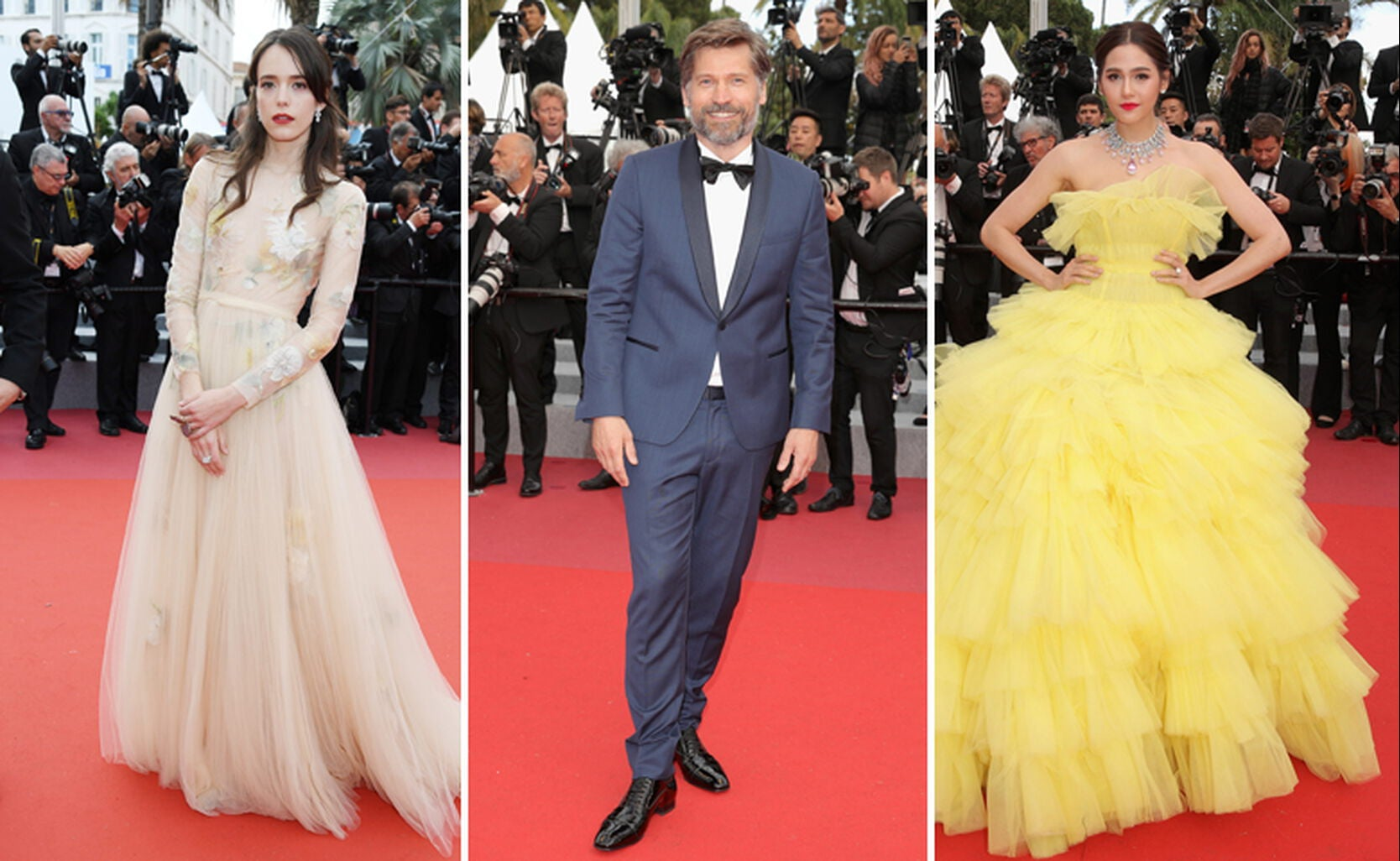 Stacy Martin, Nikolas Coster-Waldau and Araya Hargate