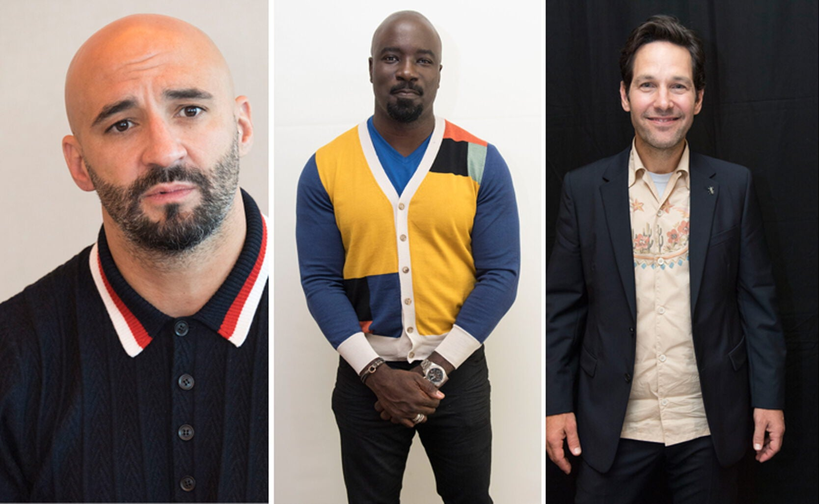 Yann Demange, Mike Colter and Paul Rudd