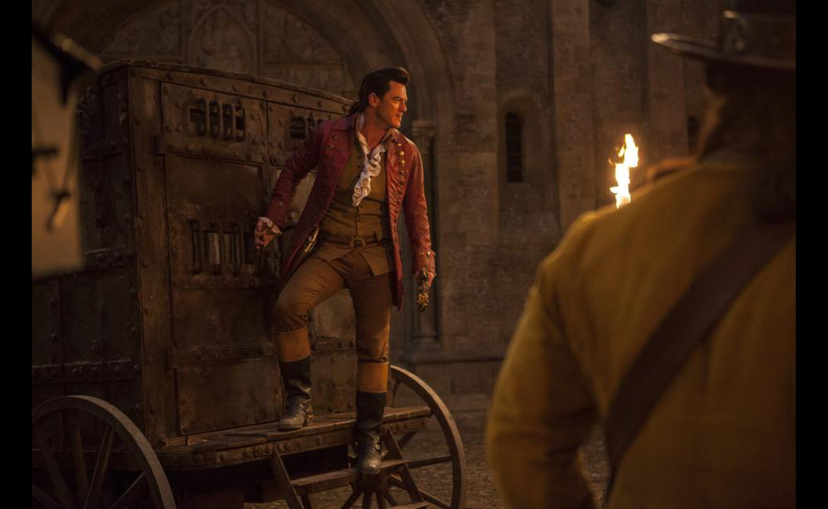 "Gaston (Luke Evans) in ""Beauty and the Beast"""