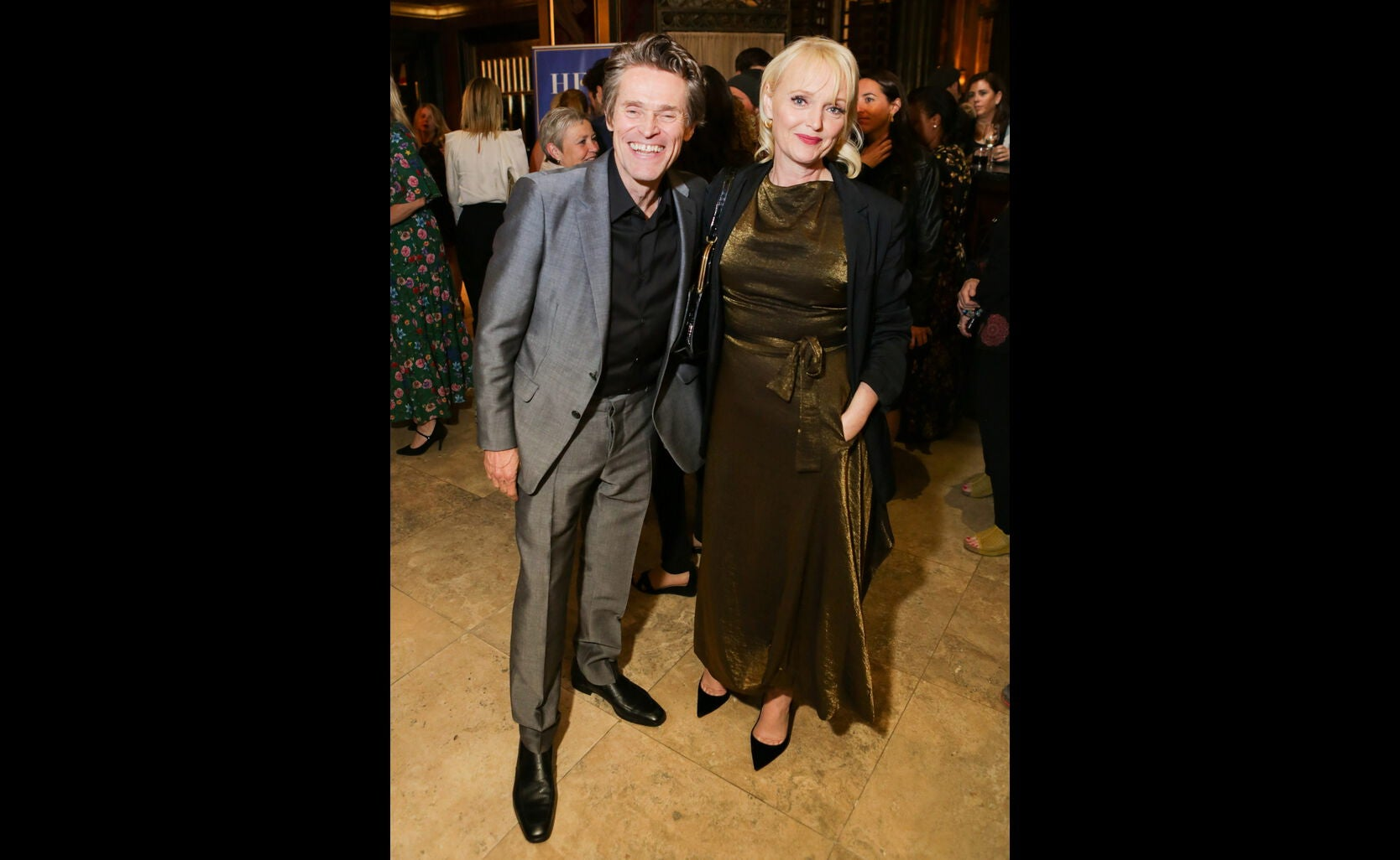 Miranda Richardson and Willem Dafo