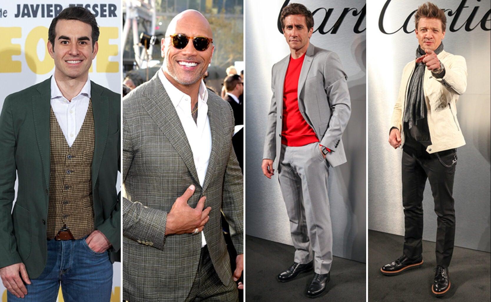 Daniel Muriel, Dwayne Johnson, Jake Gyllenhaal and Jeremy Renner