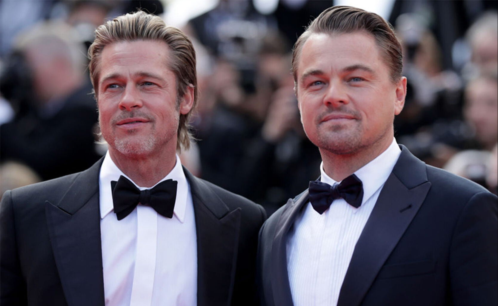 Brad Pitt and Leonardo DiCaprio.