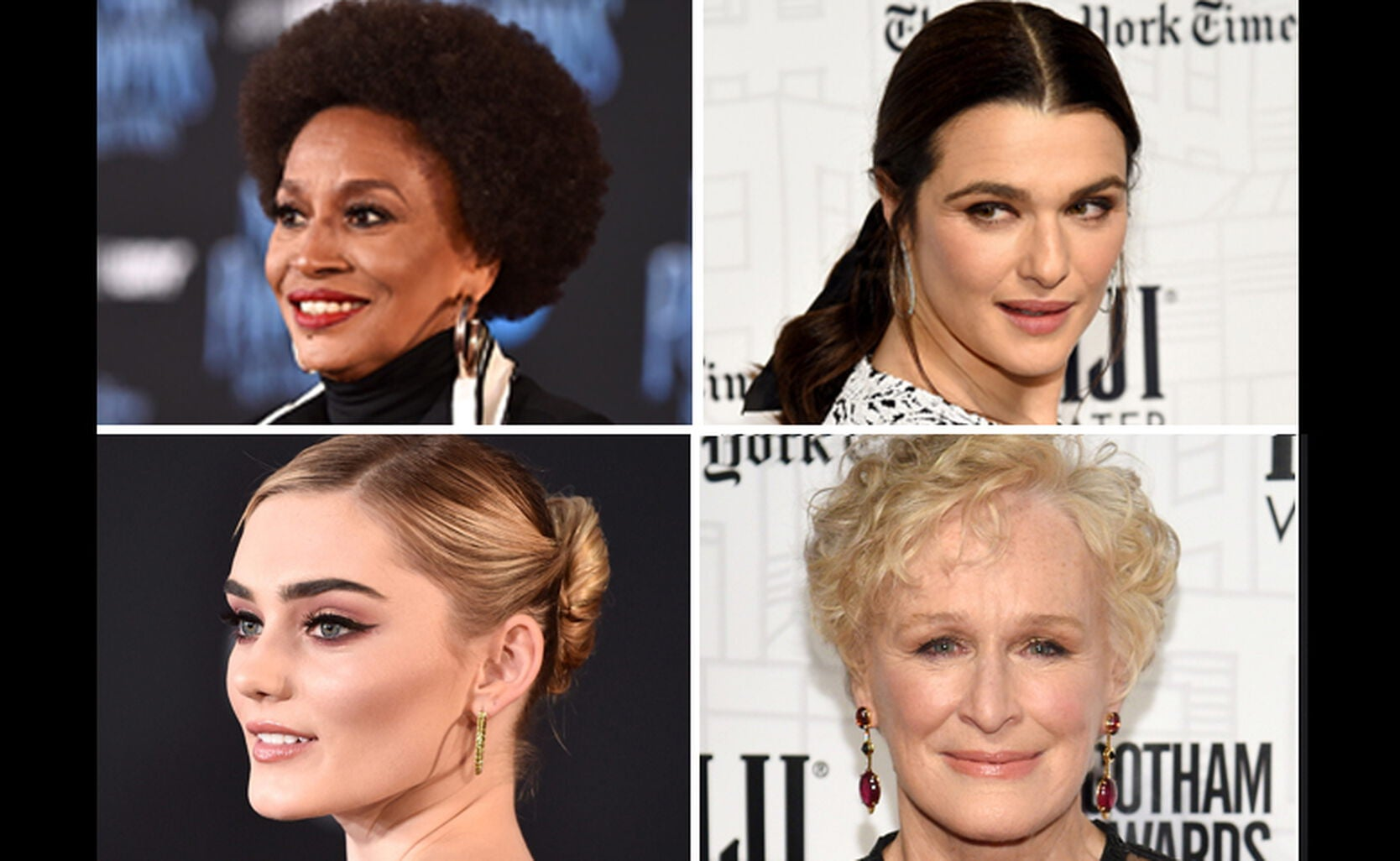 Jenifer Lews, Rachel Weisz, Meg Donnelly, Glenn Close