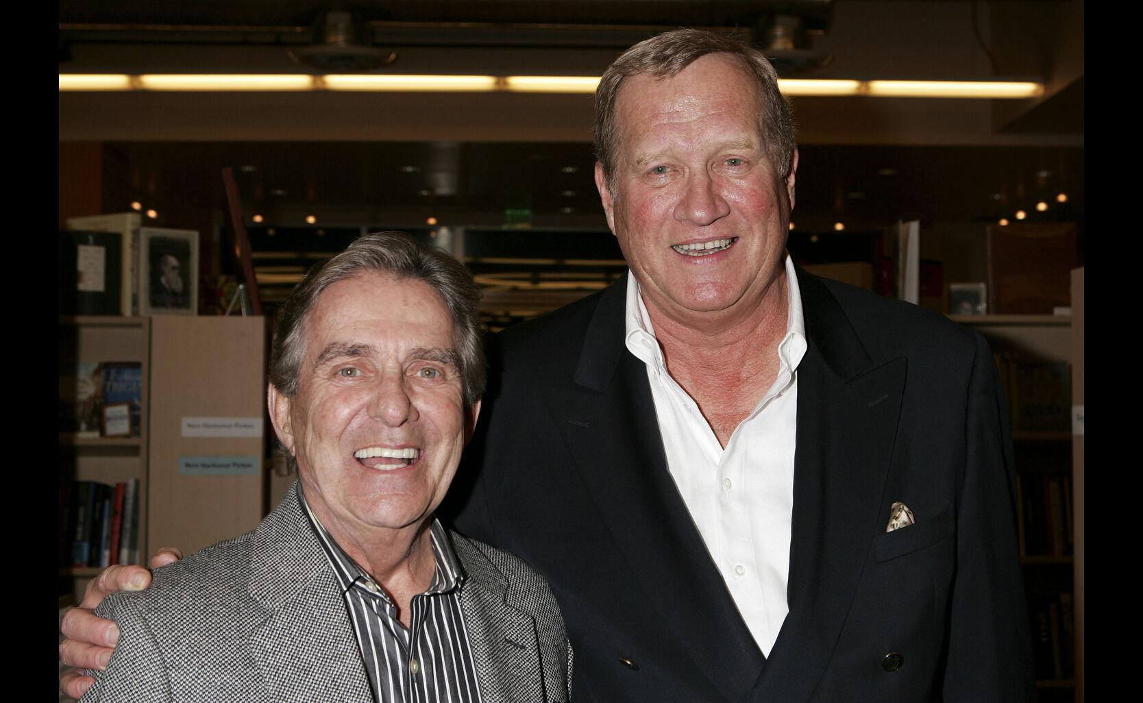 Pat Harrington and Ken Howard