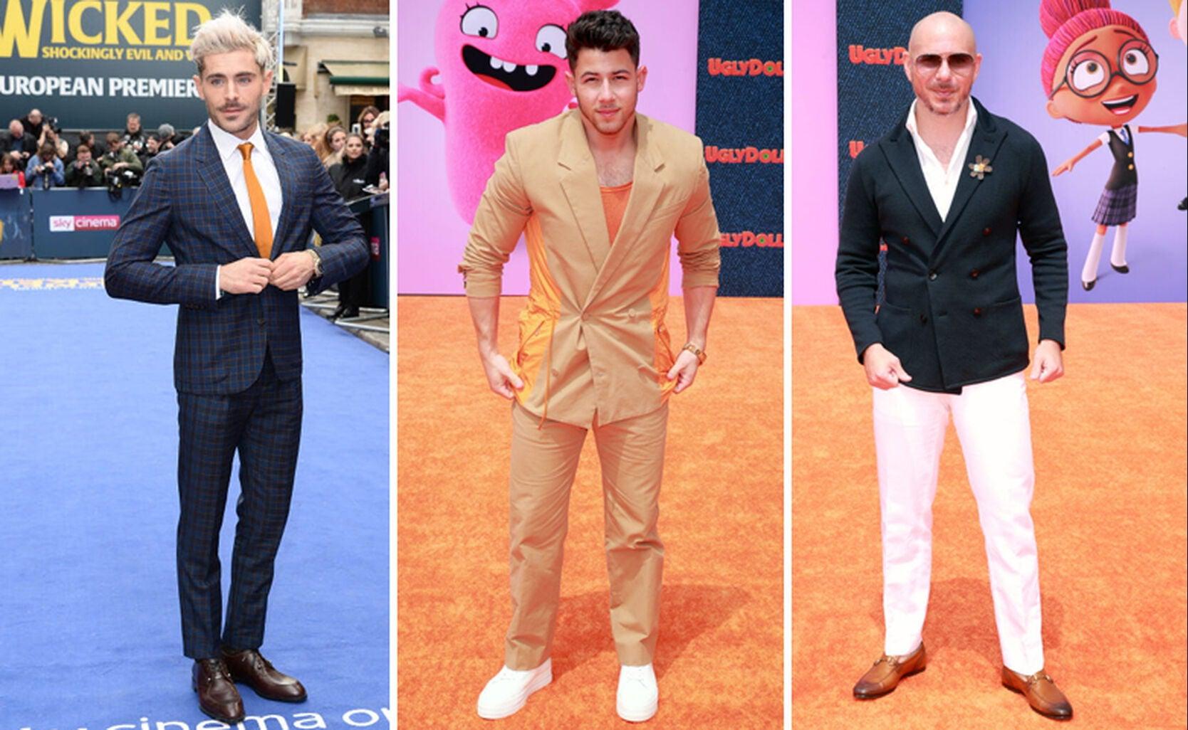 Zac Efron, Nick Jonas, Pitbull