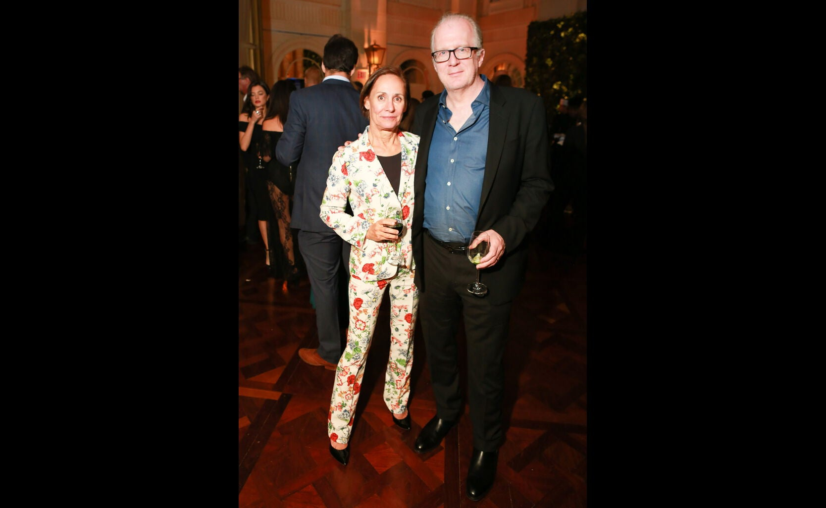 Laurie Metcalf and Tracy Letts