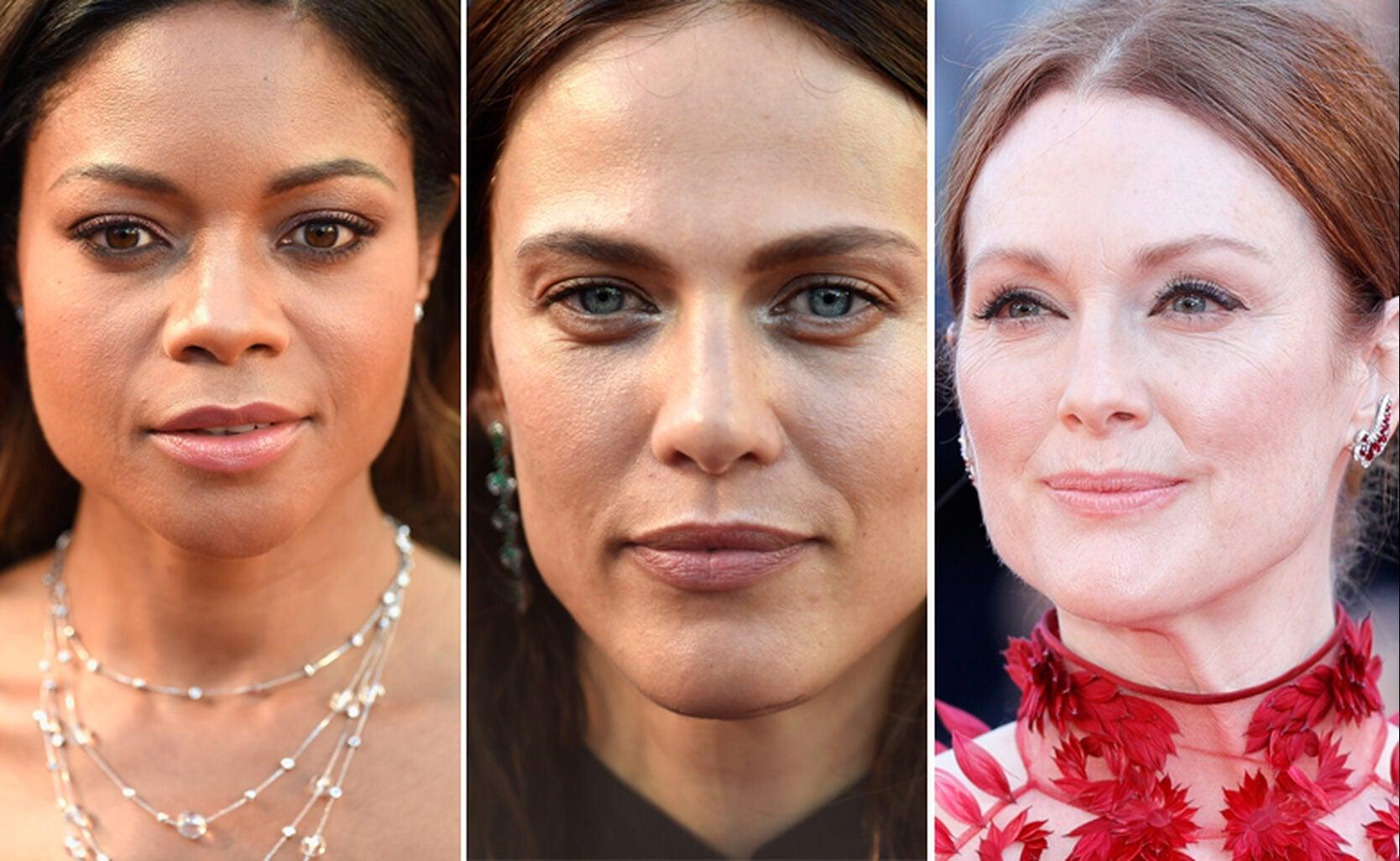 Naomie Harris, Aymeline Valade and Julianne Moore